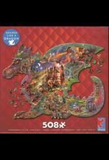 CEACO Puzzle Shapes Dragon 508pc