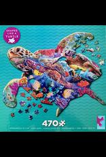 CEACO Puzzle Shapes Turtle 470pc