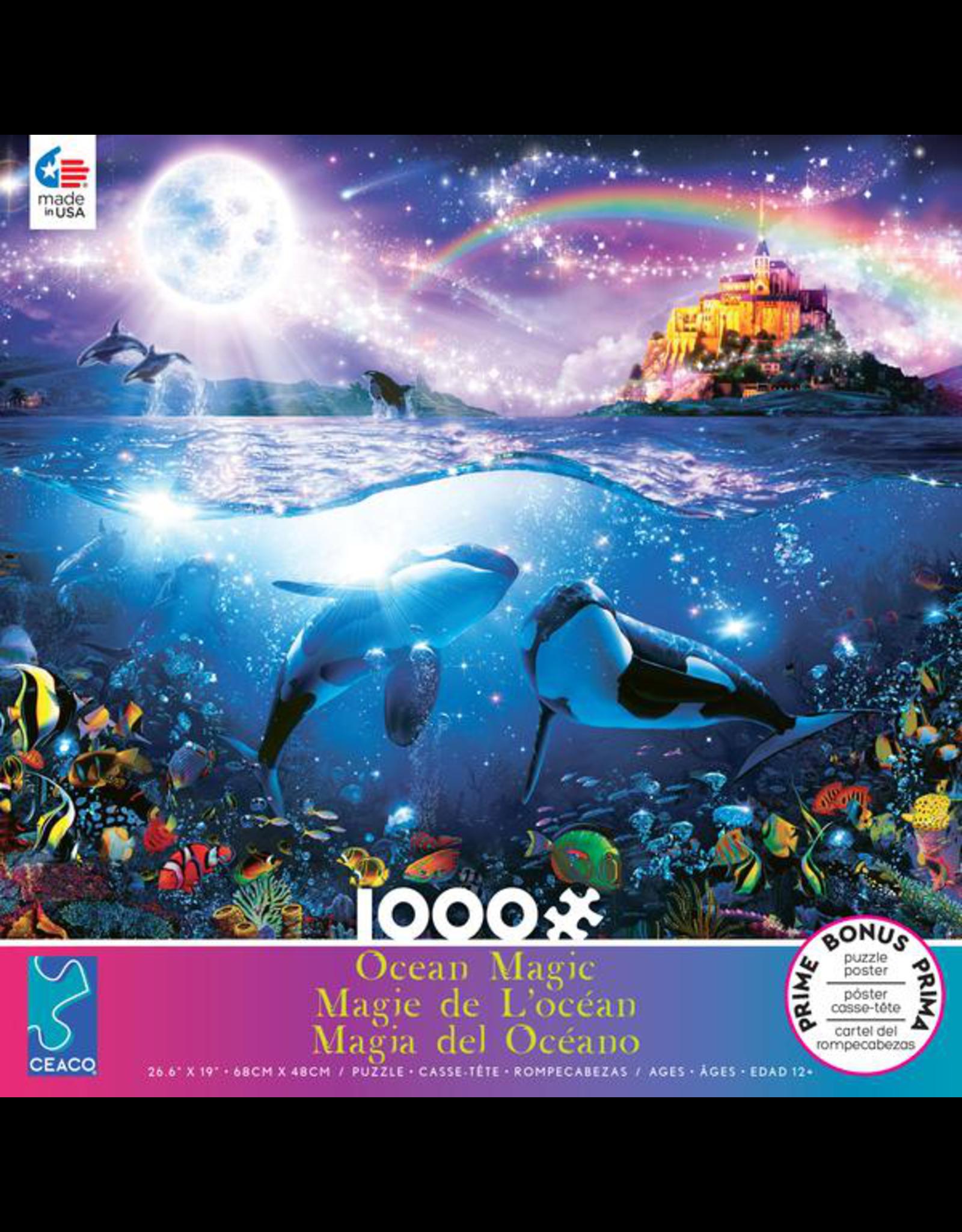 CEACO Rainbow Orcas OM 1000pc