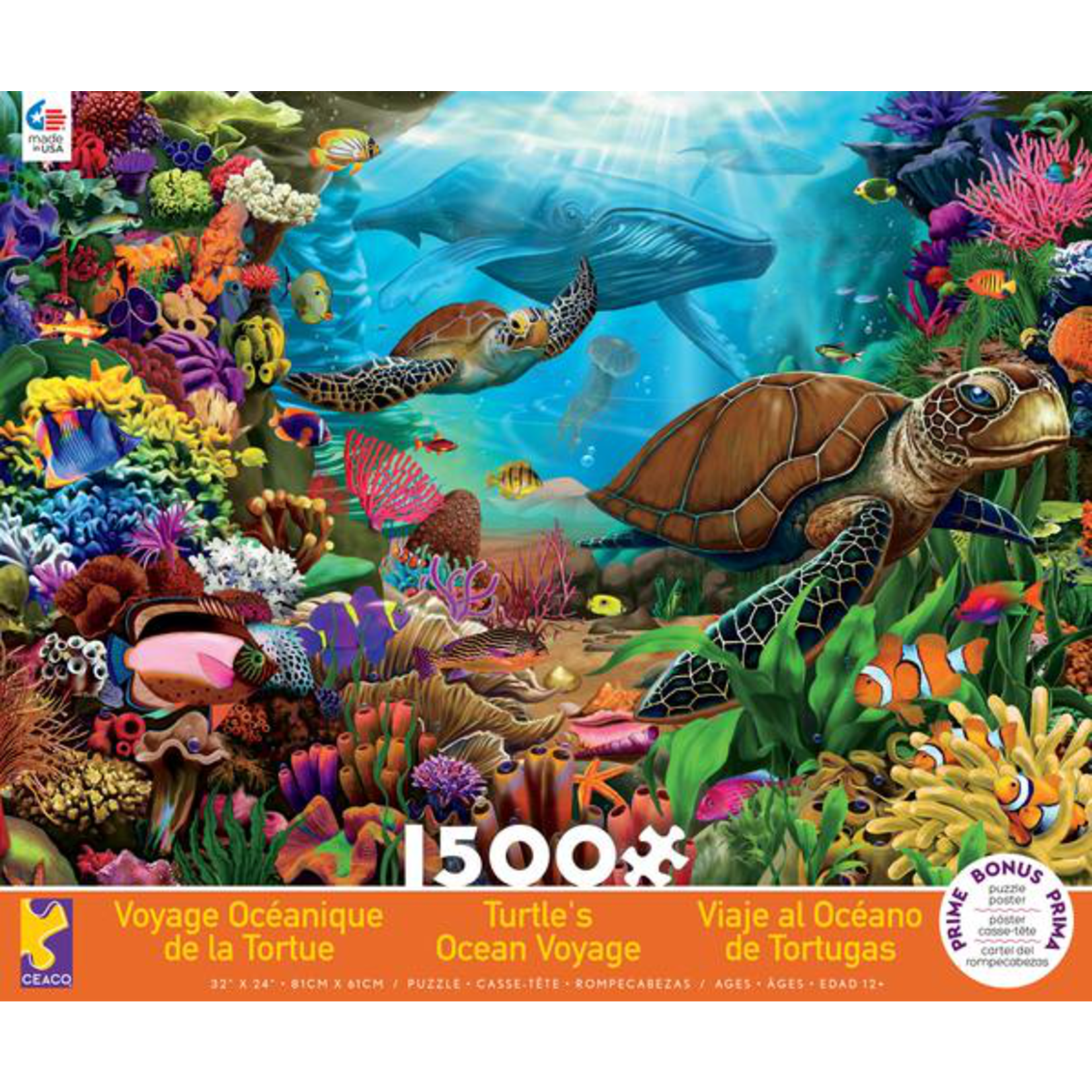 CEACO Turtle's Voyage 1500pc