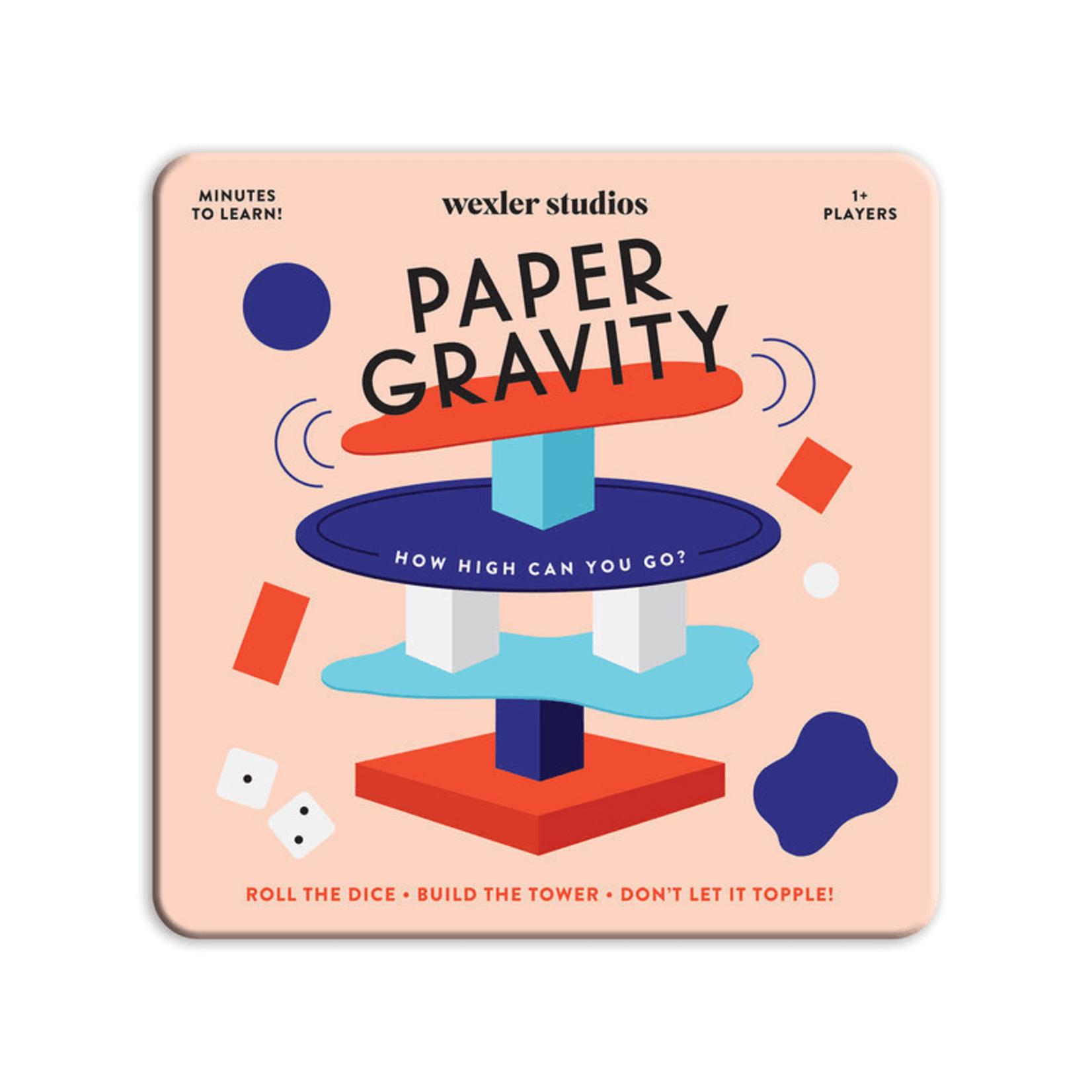 Galison Paper Gravity