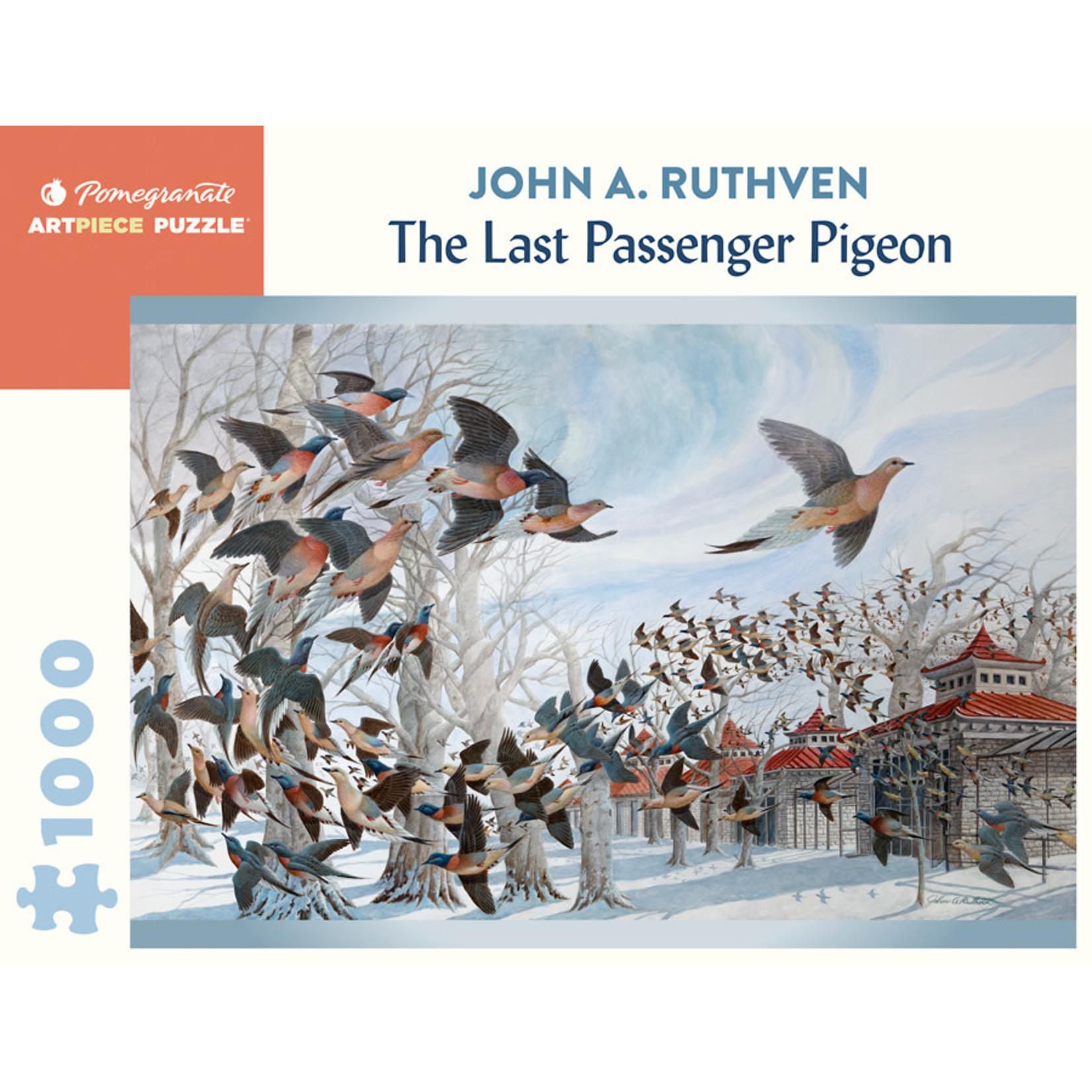 Pomegranate Puzzles Last Passenger Pigeon, JA Ruthven 1000pc