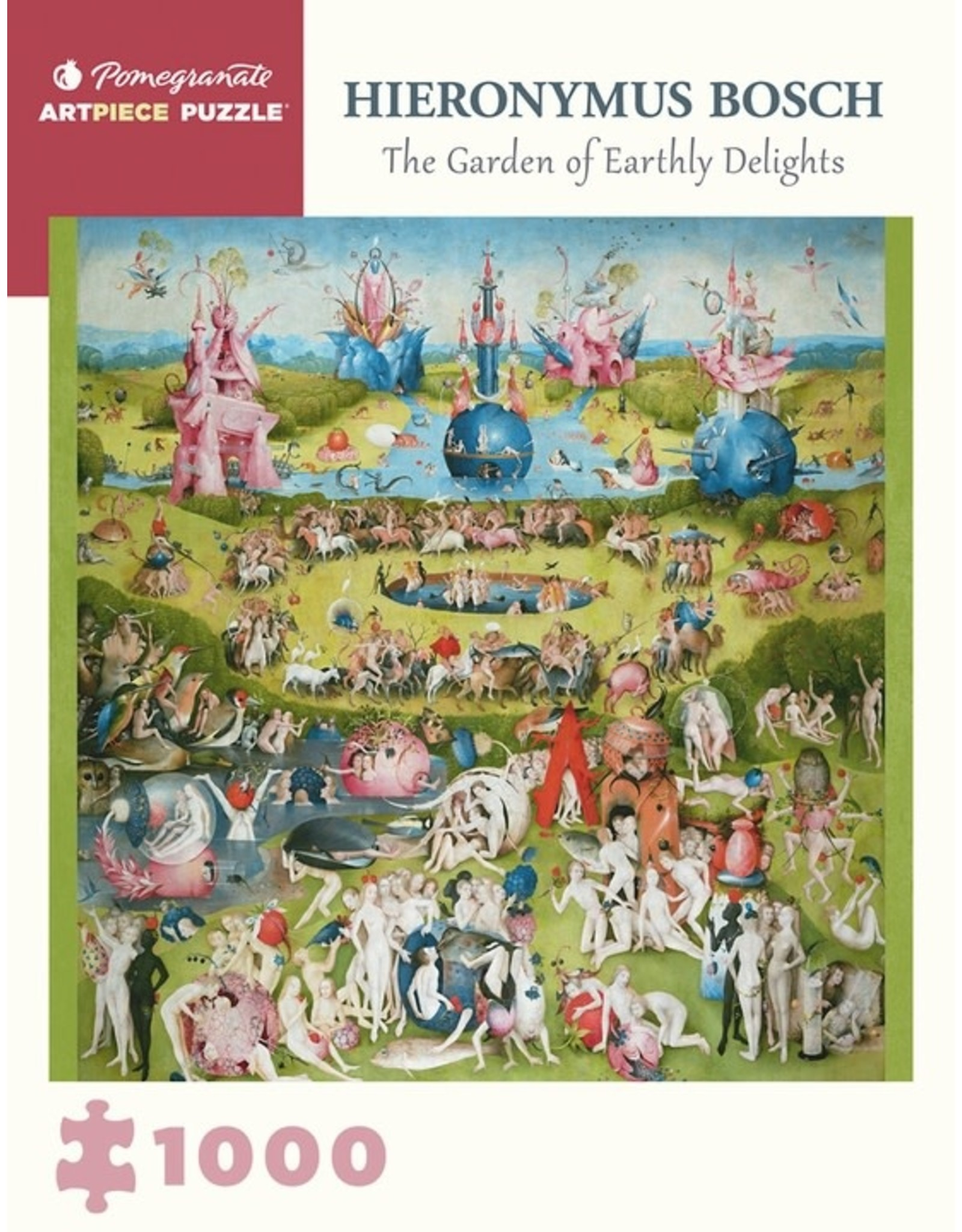 Pomegranate Puzzles Garden of Earthly Delights, H Bosch 1000pc