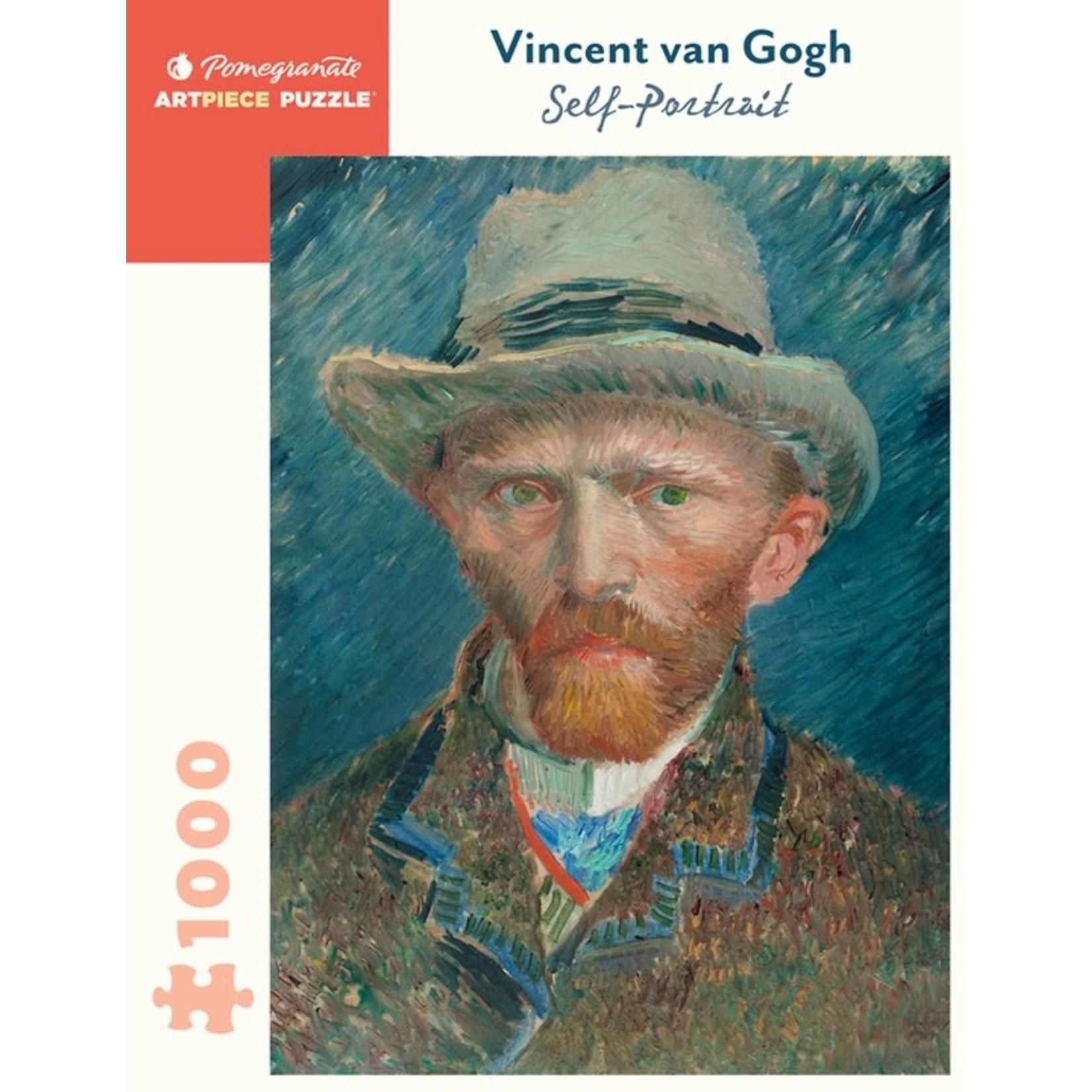 Pomegranate Puzzles Self-Portrait, Vincet van Gogh 1000pc