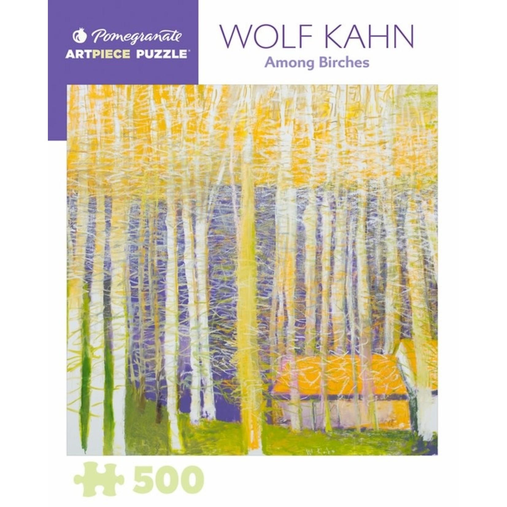 Pomegranate Puzzles Among Birches, W Kahn 500pc