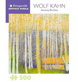 Pomegranate Puzzles Among Birches, W Kahn 500pc