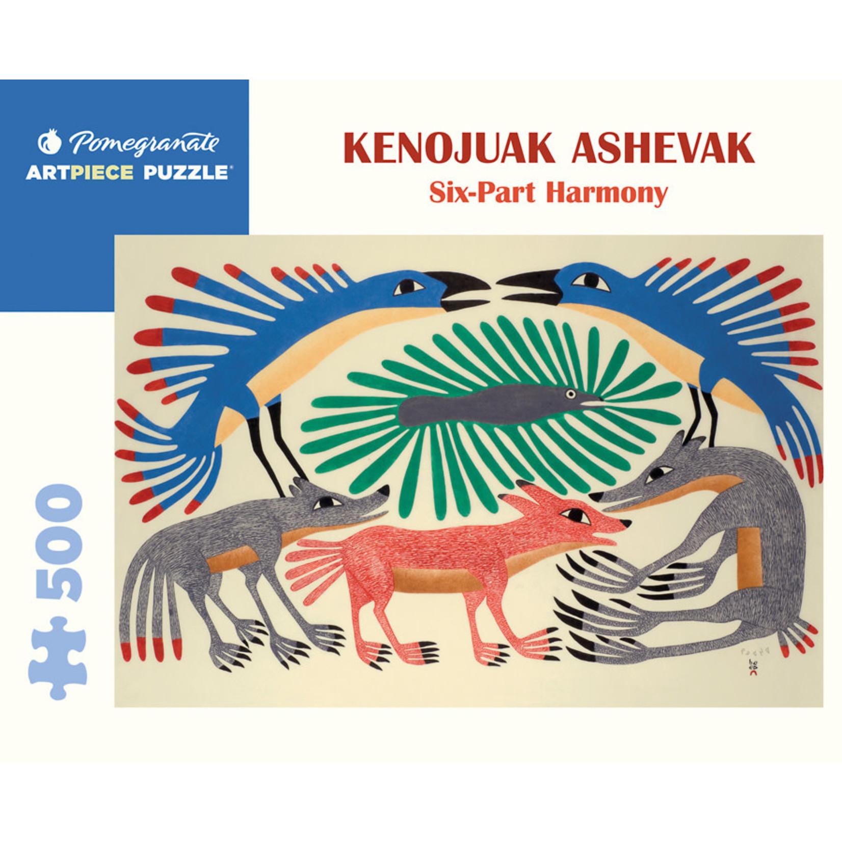 Pomegranate Puzzles Six-Part Harmony, K Ashevak 500pc
