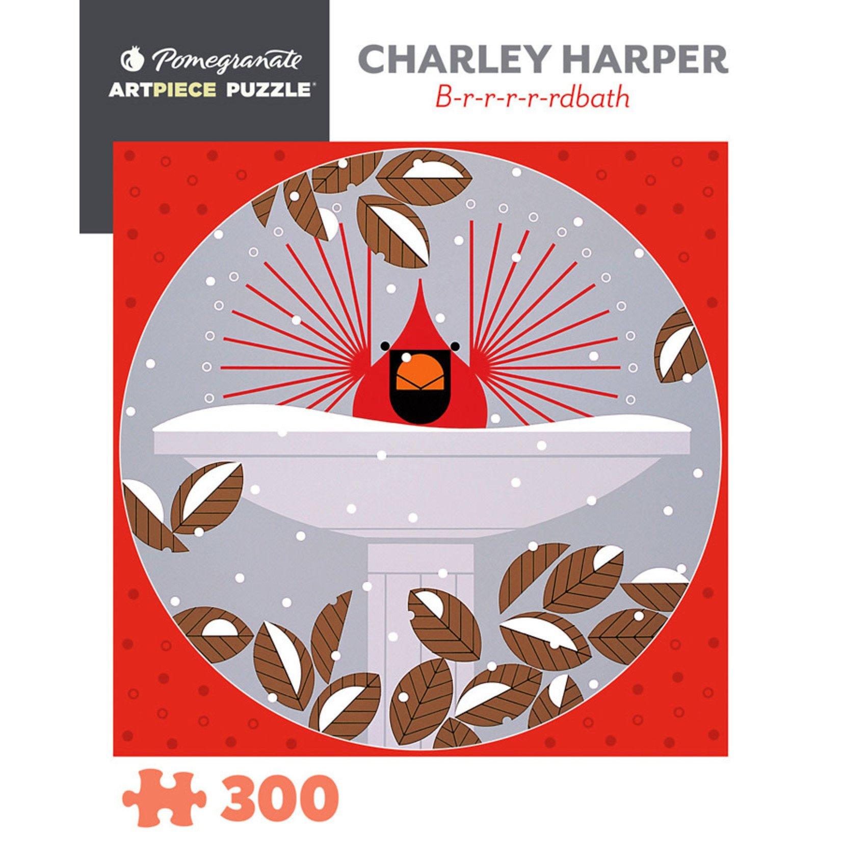 Pomegranate Puzzles B-r-r-r-r-rdbath, C Harper 300pc