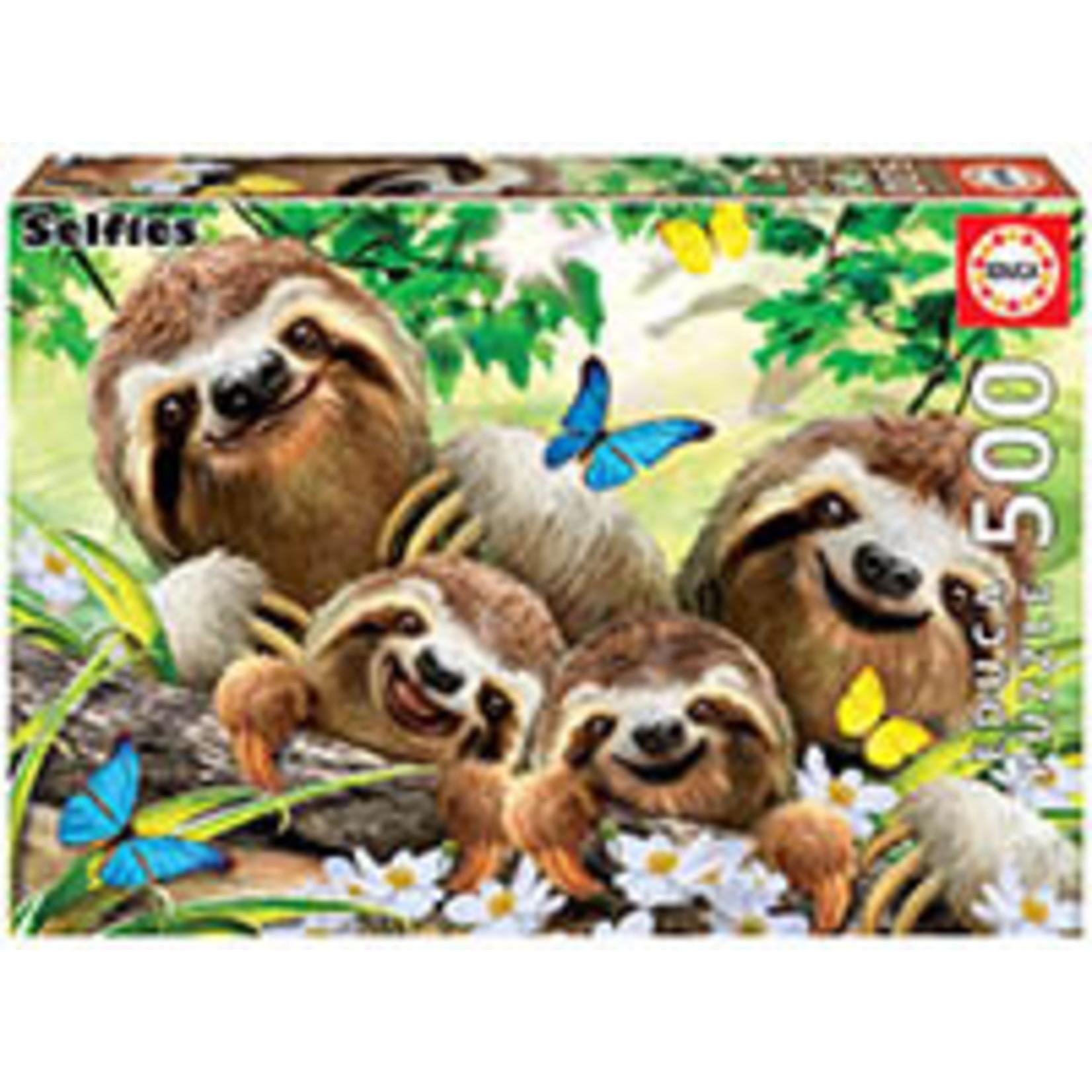 Educa Puzzles Sloth Family Selfie 500pc