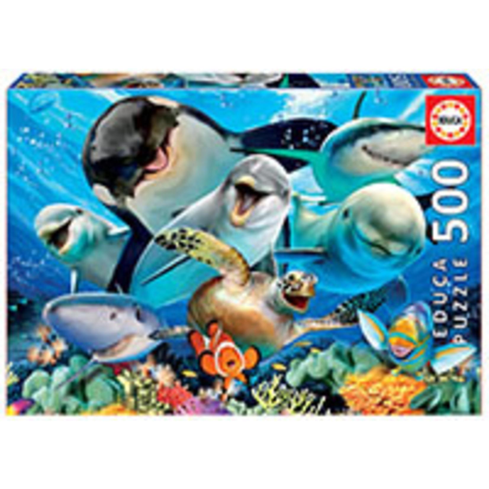 Educa Puzzles Underwater Selfie 500pc