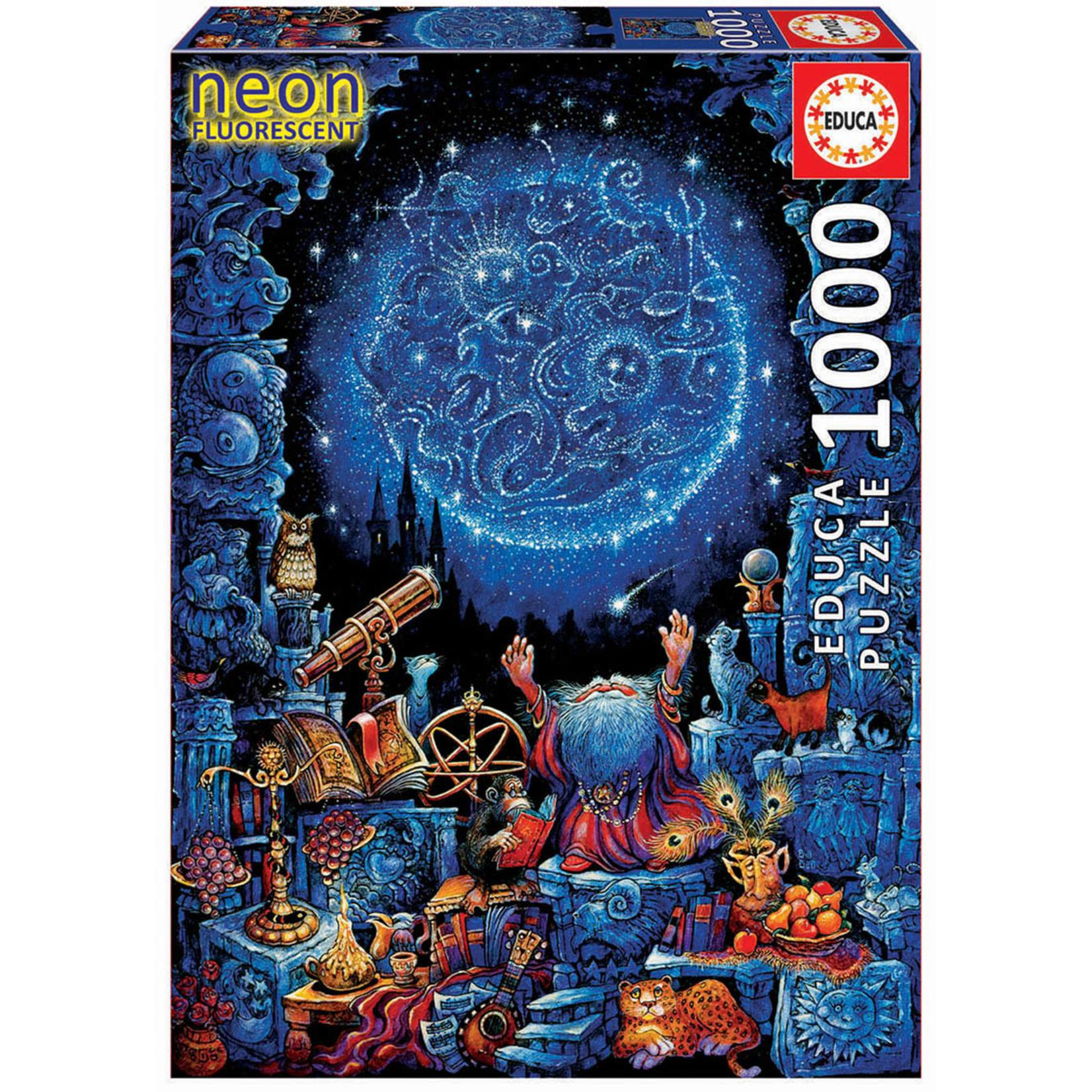 Educa Puzzles Astrologer 2 neon  1000pc