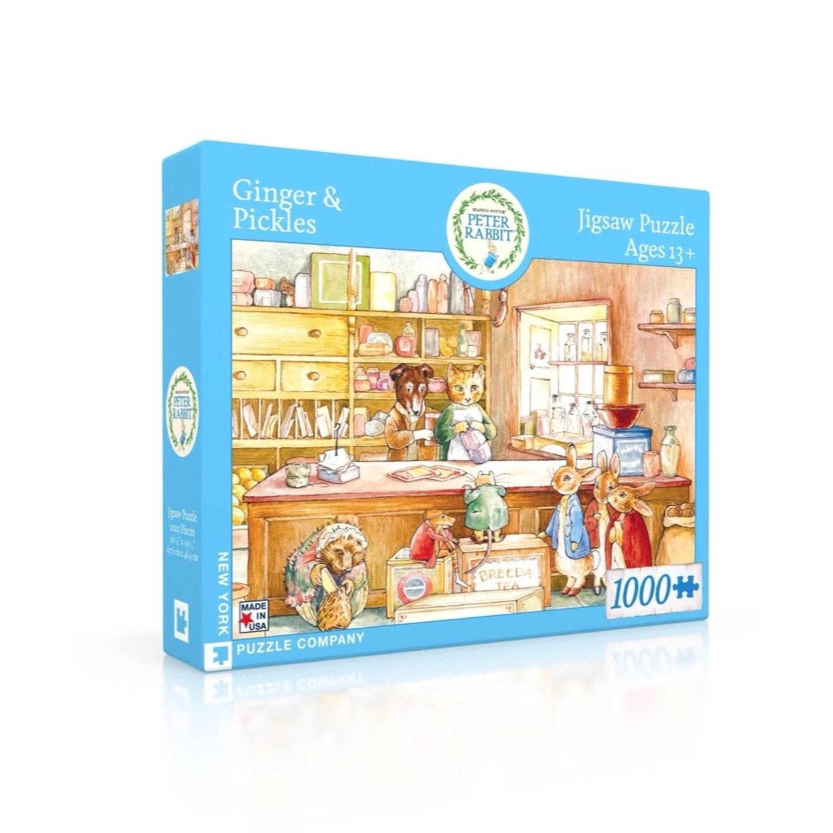 New York Puzzle Co Ginger & Pickles BP 1000pc