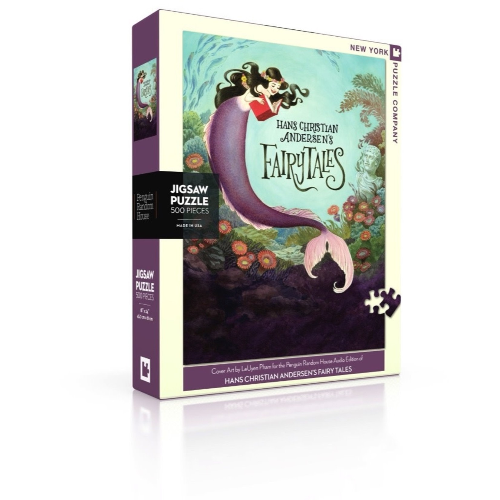 New York Puzzle Co Hans Christian Andersen's Fairy Tales 500pc