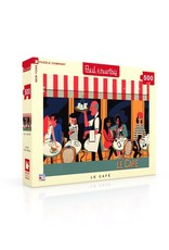 New York Puzzle Co Le Cafe 500pc