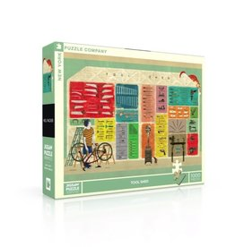 New York Puzzle Co Tool Shed 1000pc