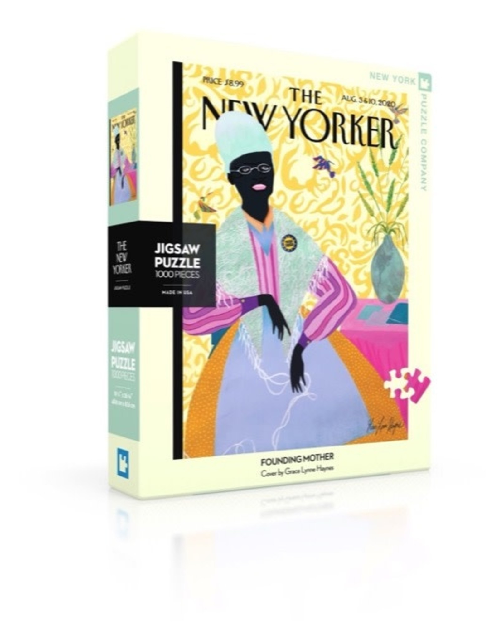 New York Puzzle Co Founding Mother 1000pc