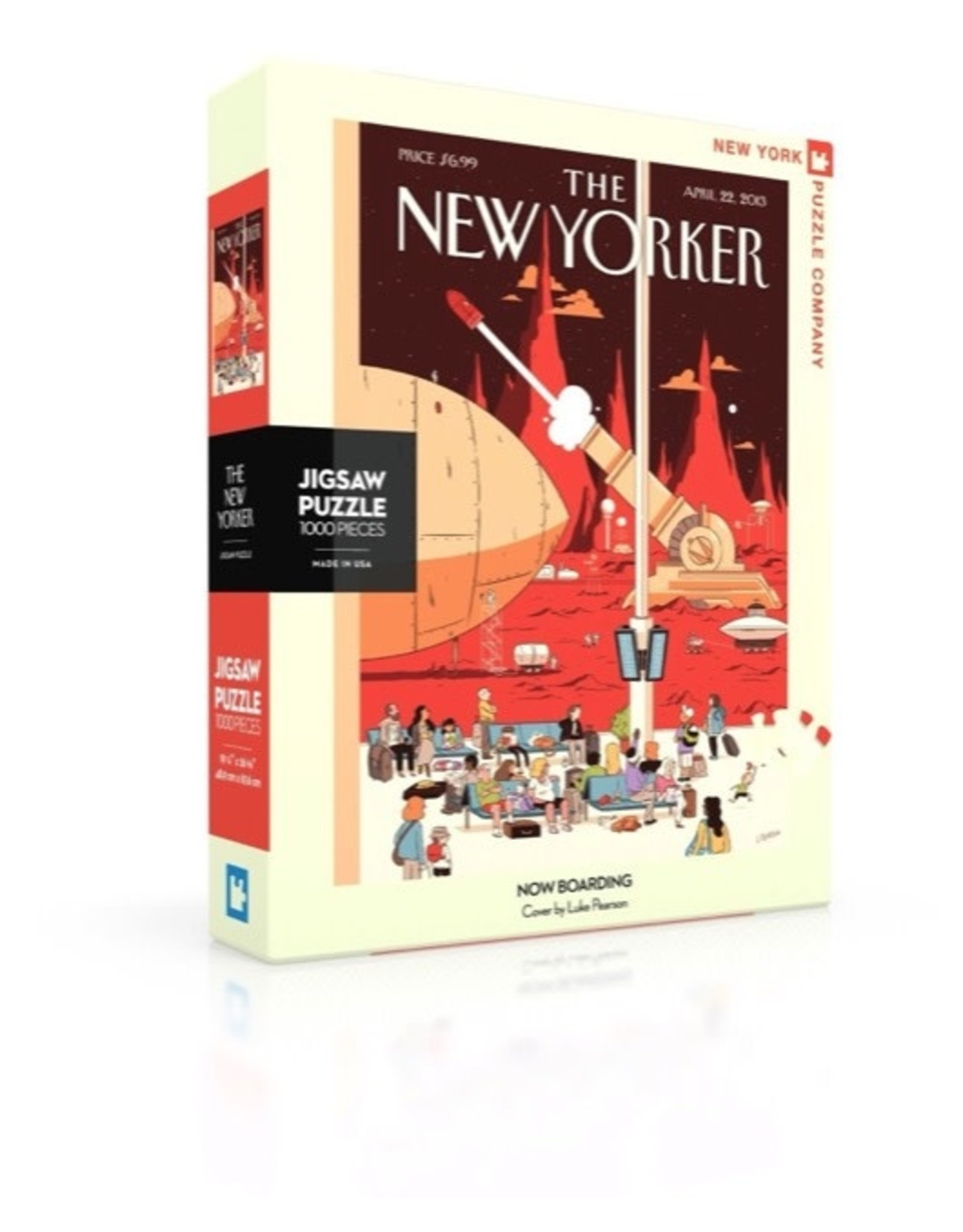 New York Puzzle Co Now Boarding 1000pc