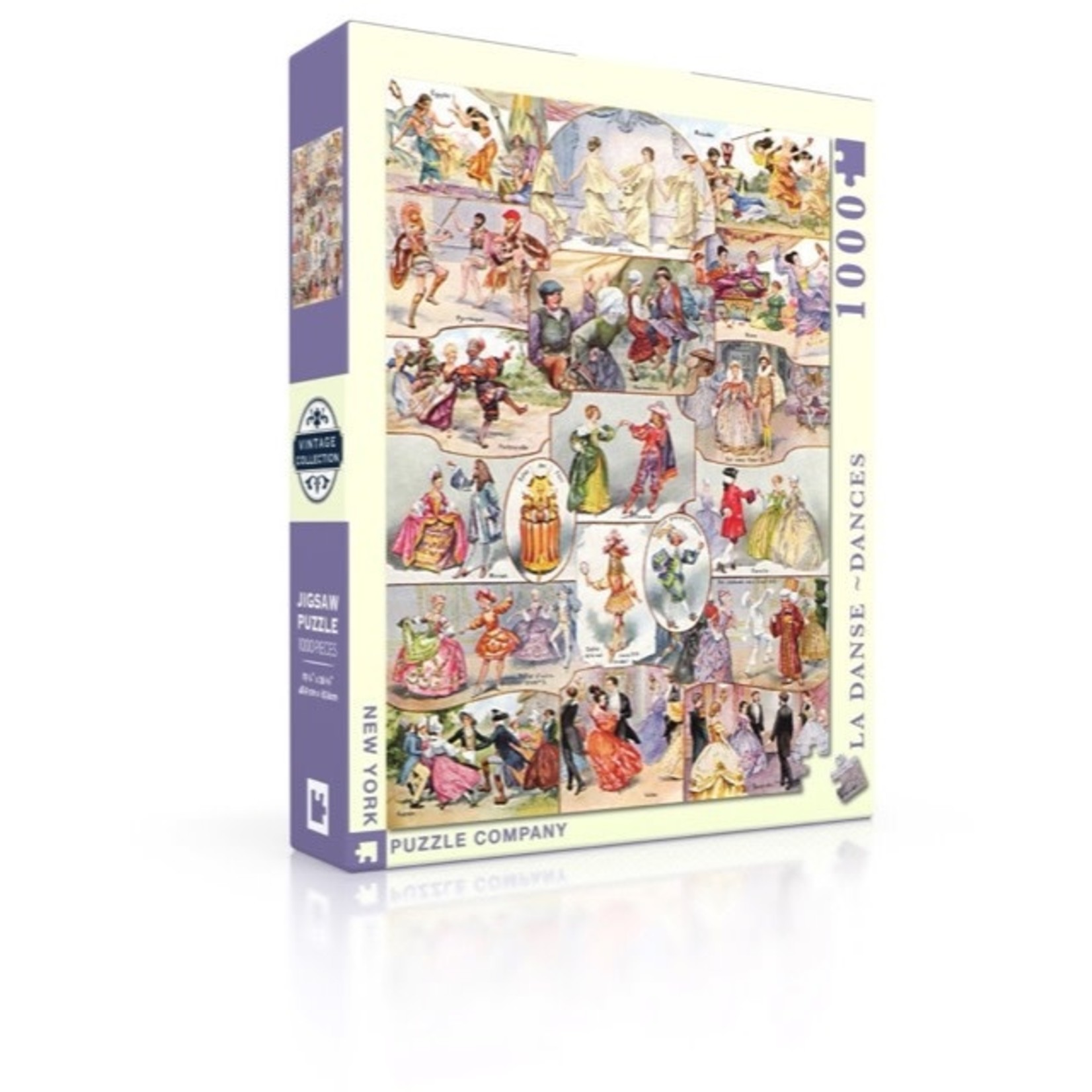 New York Puzzle Co La Danse 1000pc