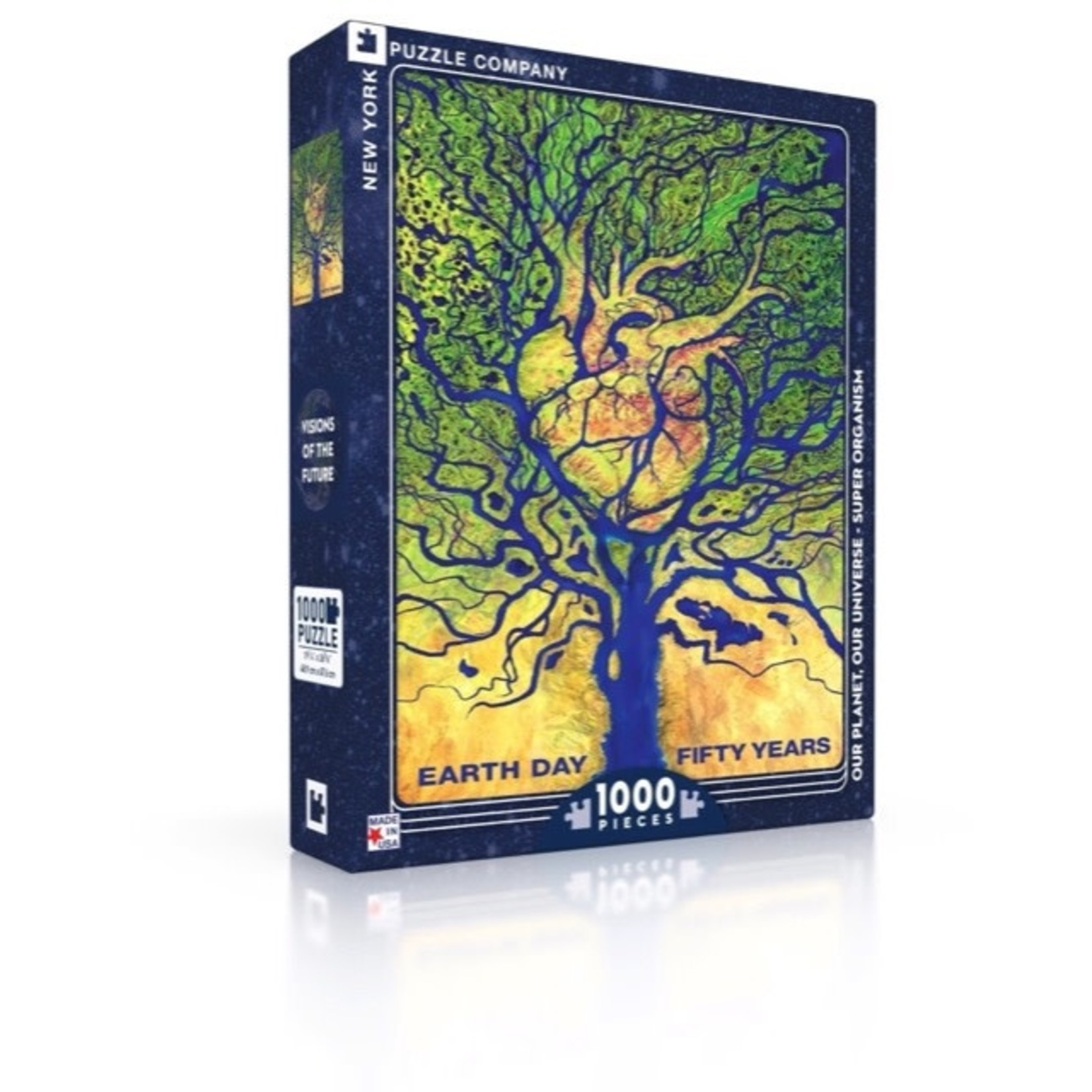 New York Puzzle Co Super Organism 1000pc
