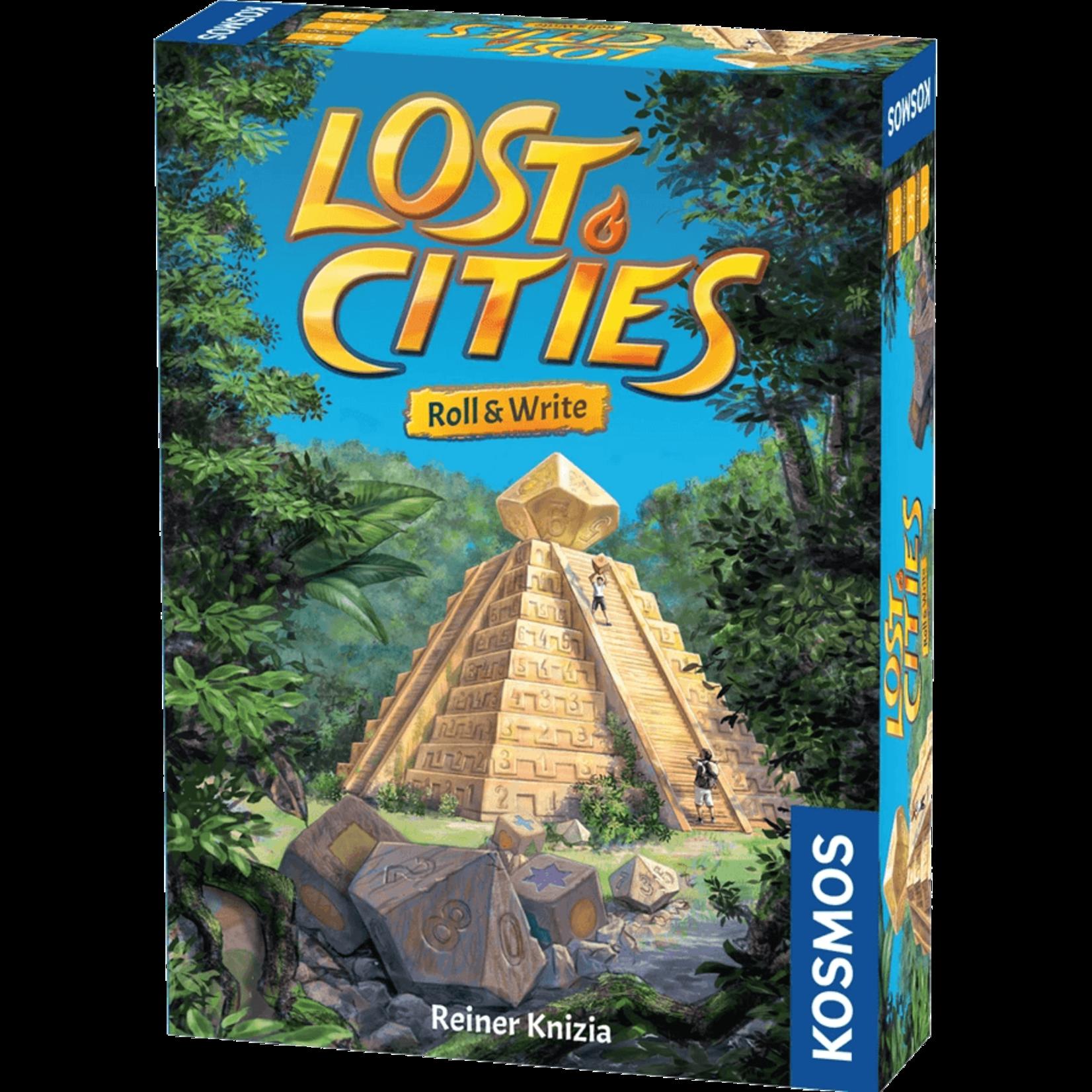 KOSMOS Lost Cities Roll & Write