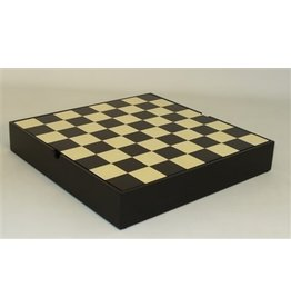 "Worldwise Imports CHESS BD: Sm Black Chest (13"")"