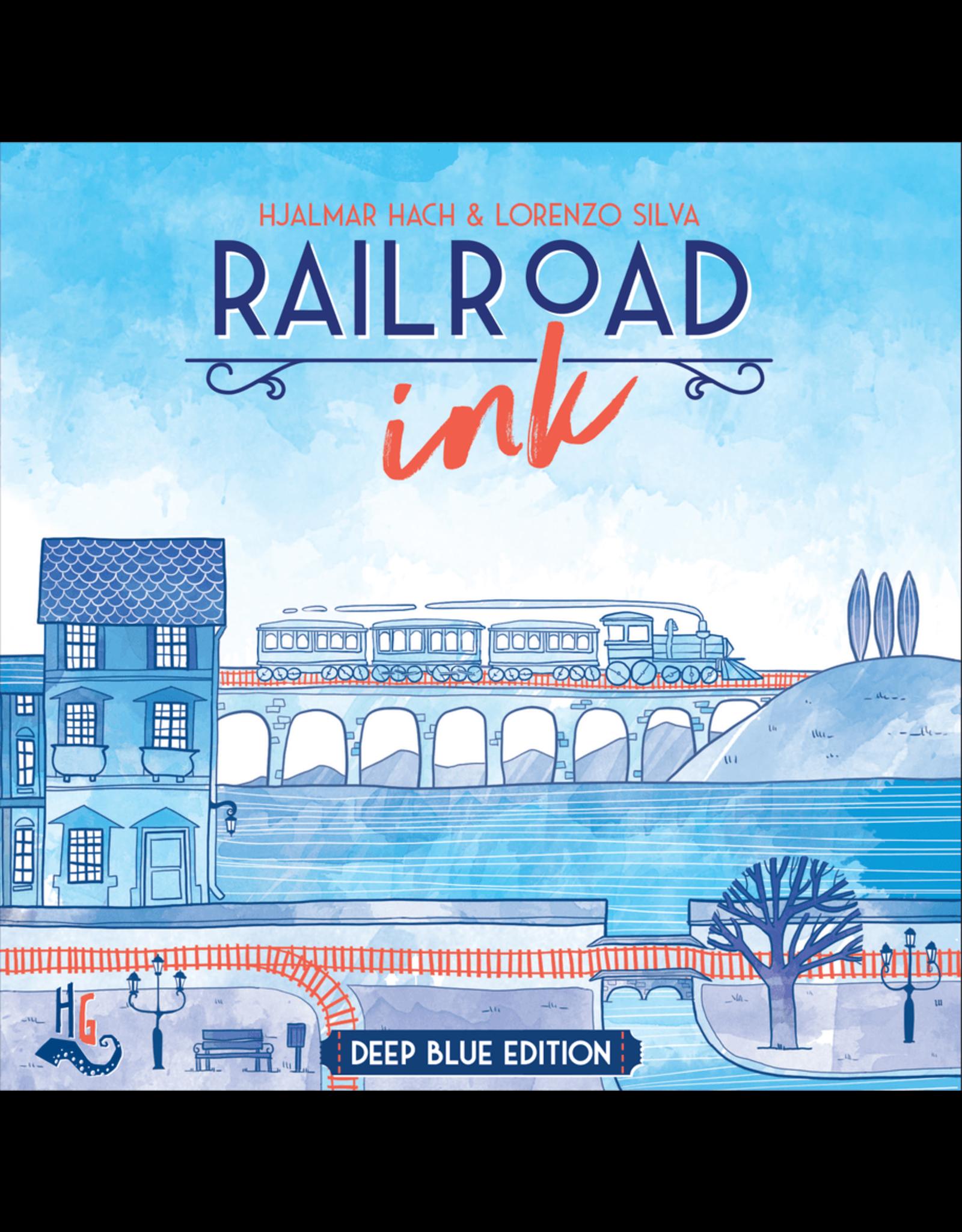 Horrible Guild Railroad Ink: Blue
