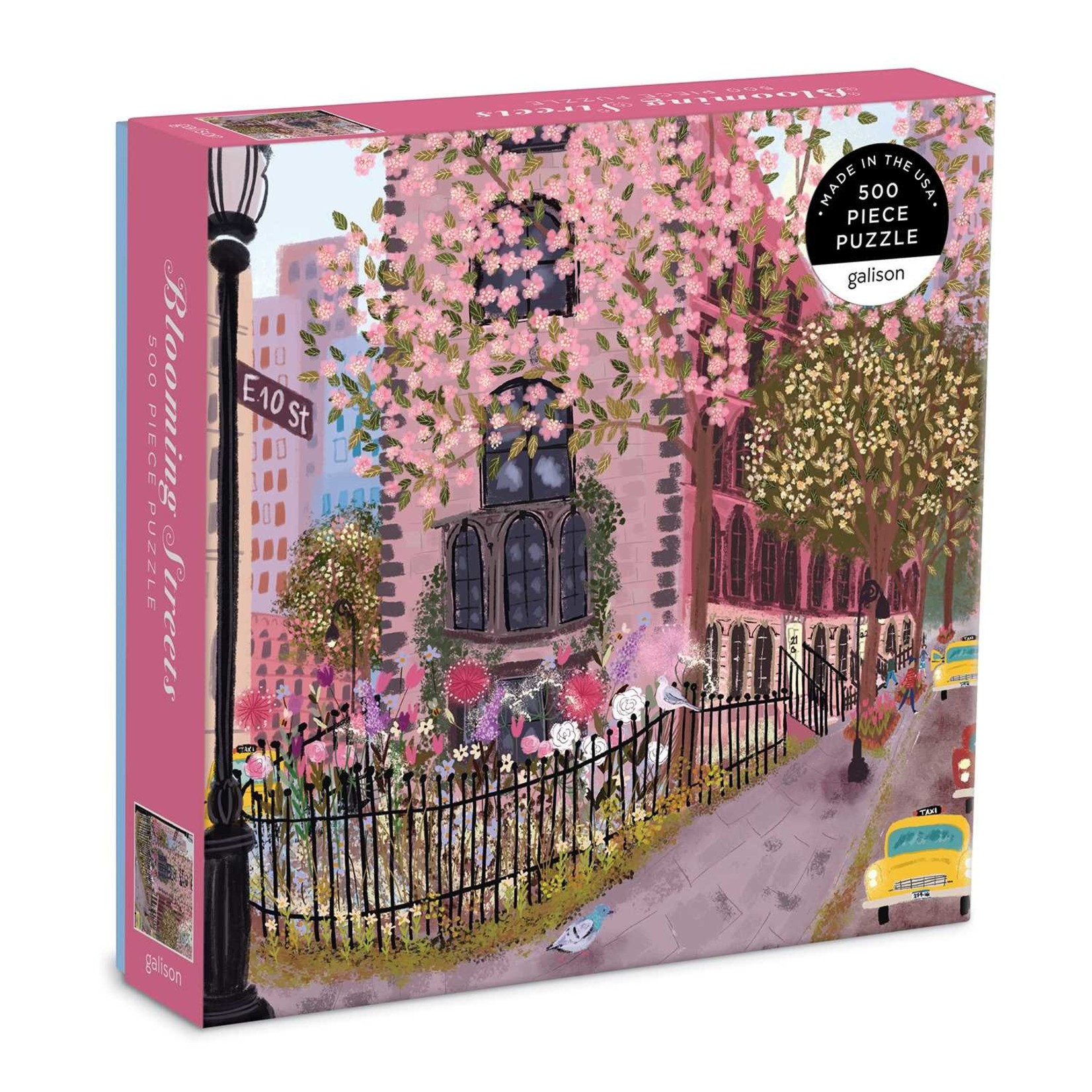 Galison Blooming Streets 500pc