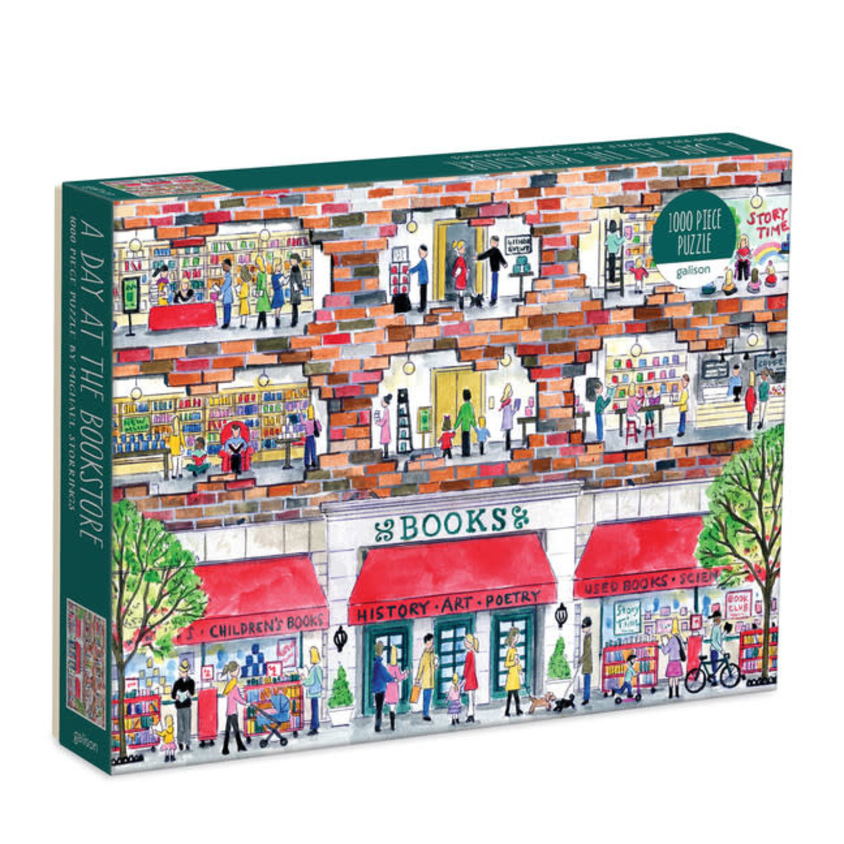 Galison Day at the Bookstore 1000pc