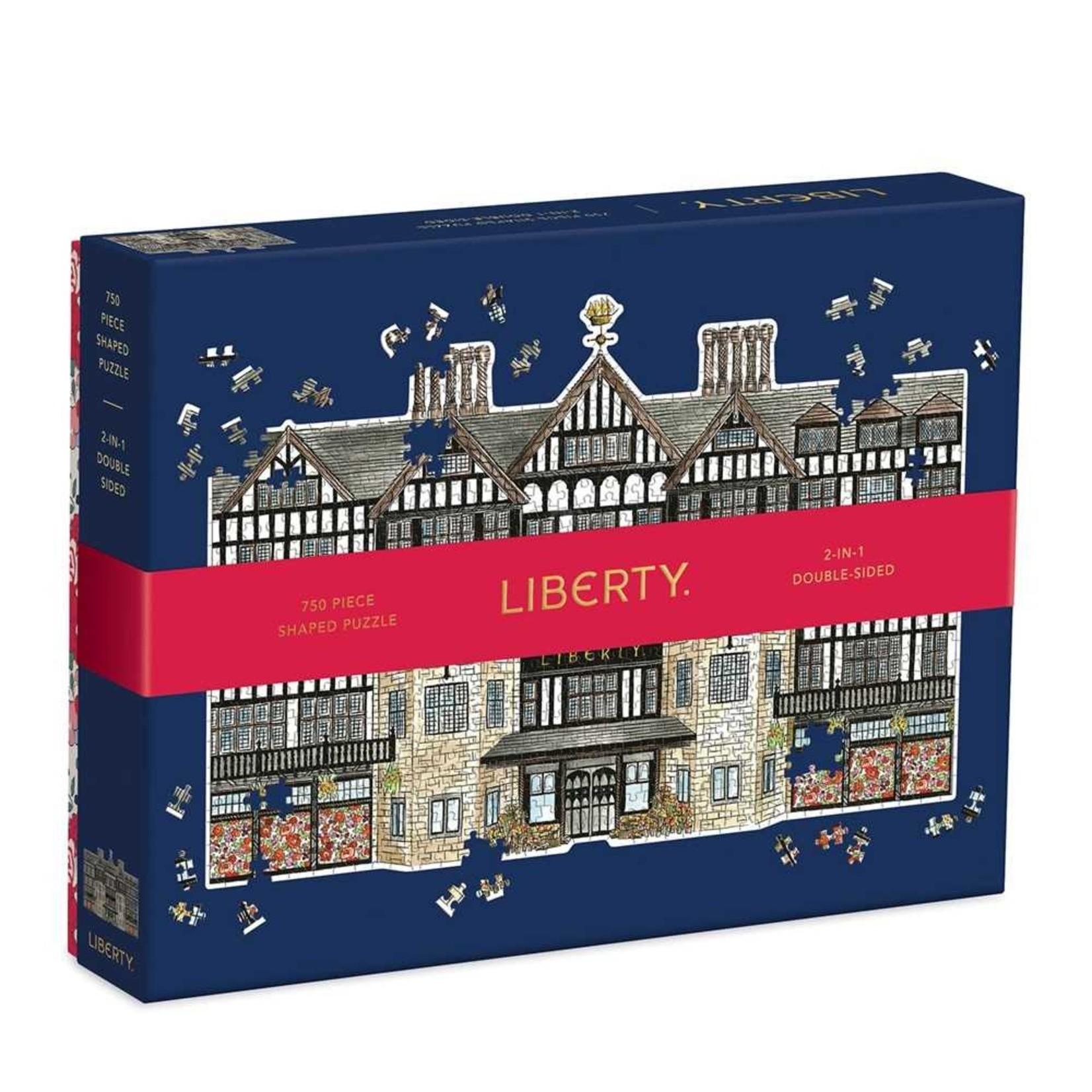 Galison London Tudor Building Shaped 750pc