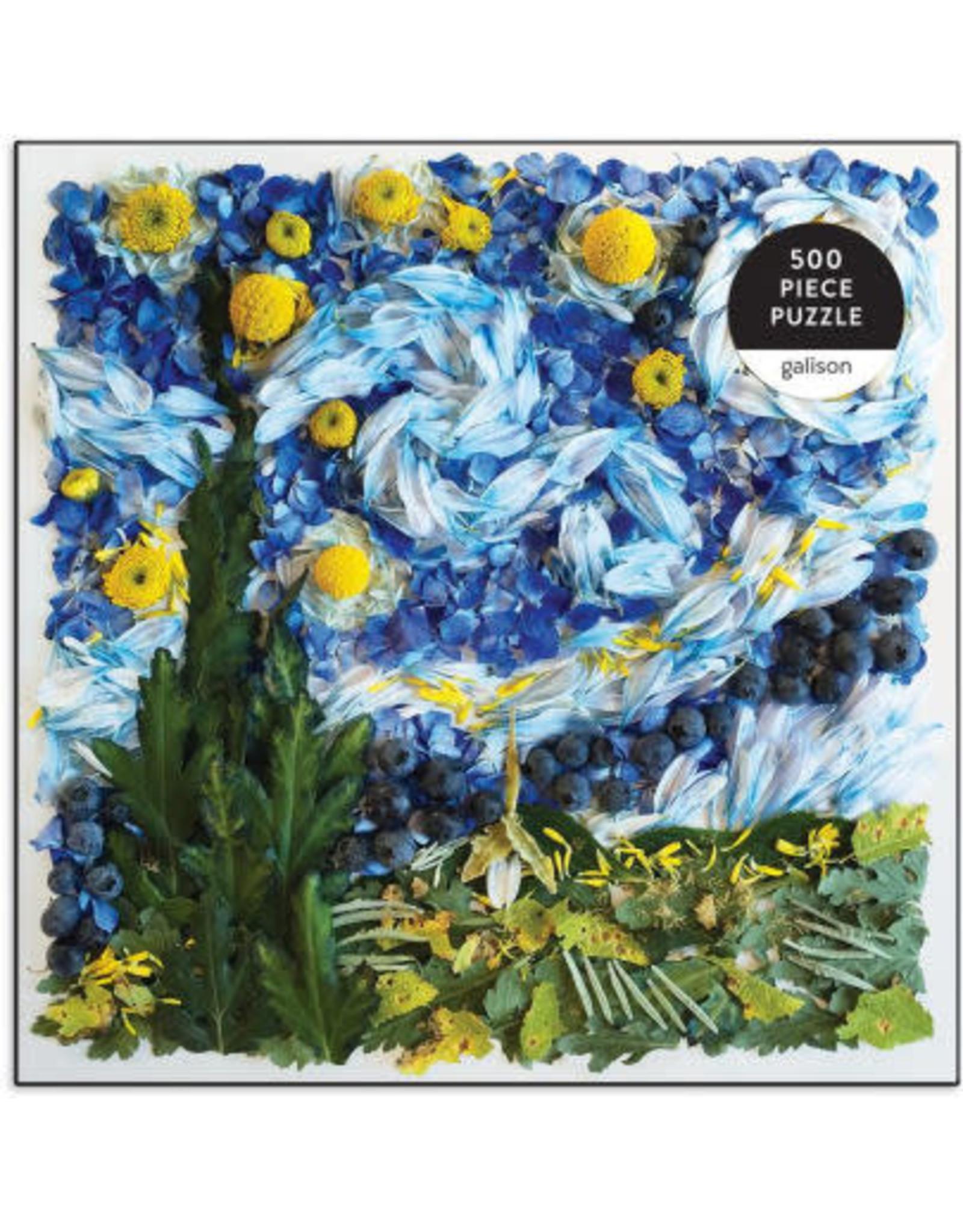 Galison Starry Night Petals 500pc