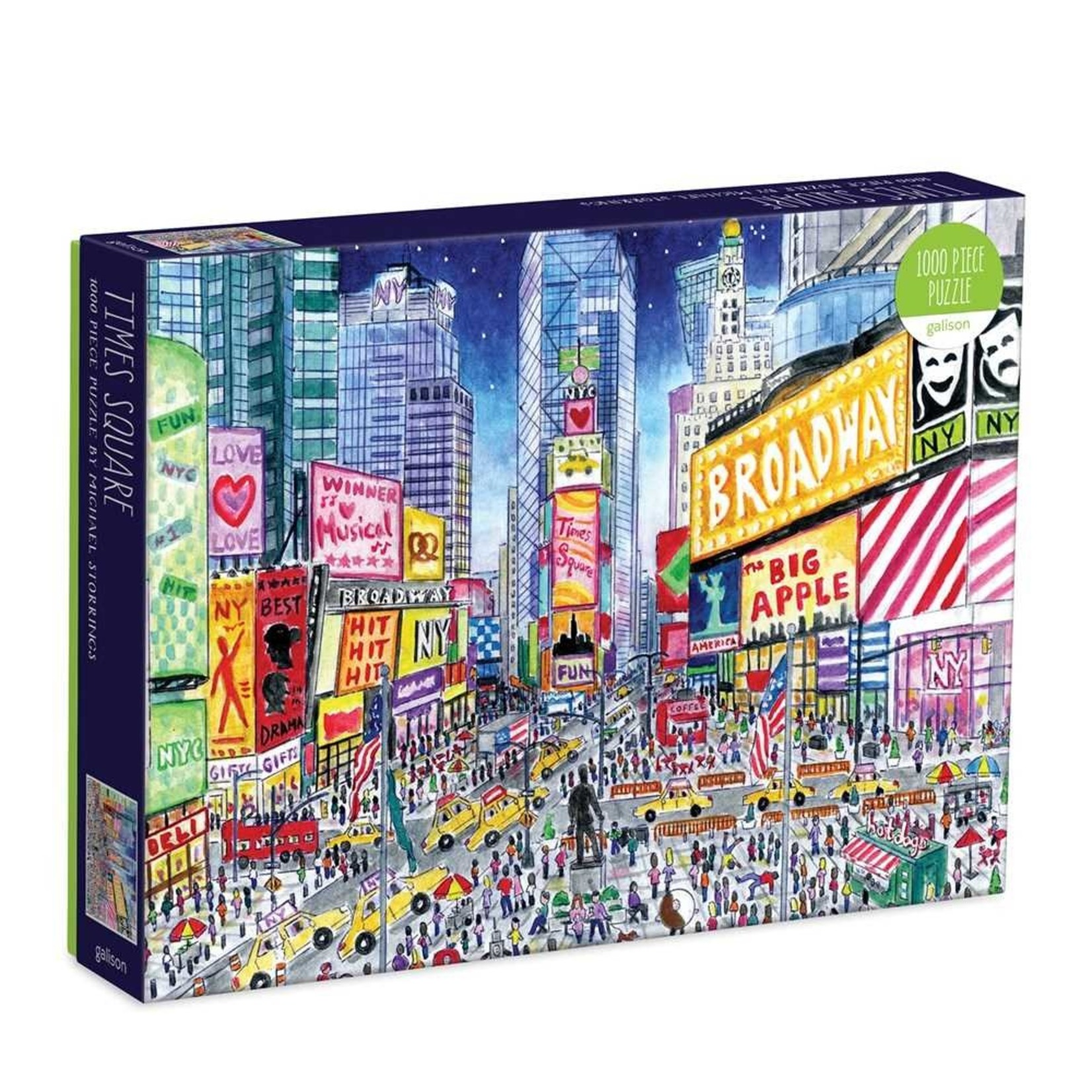 Galison Times Square Michael Storrings 1000pc