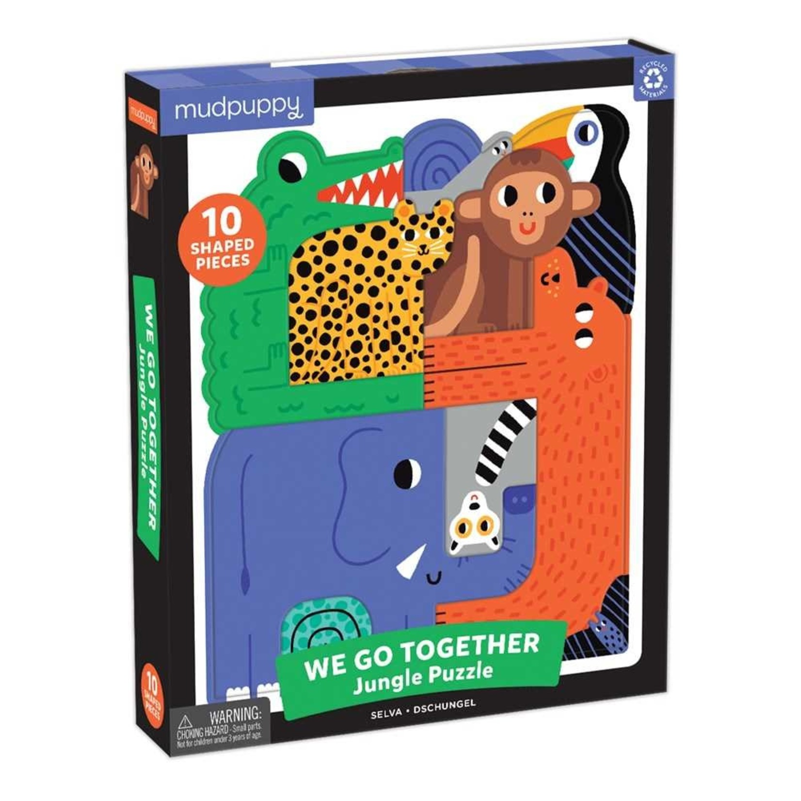 Mudpuppy Jungle We Go Together 10pc