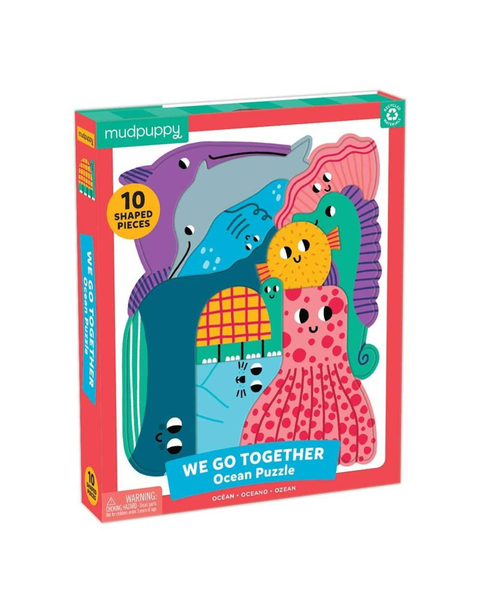 Mudpuppy Ocean We Go Together 10pc