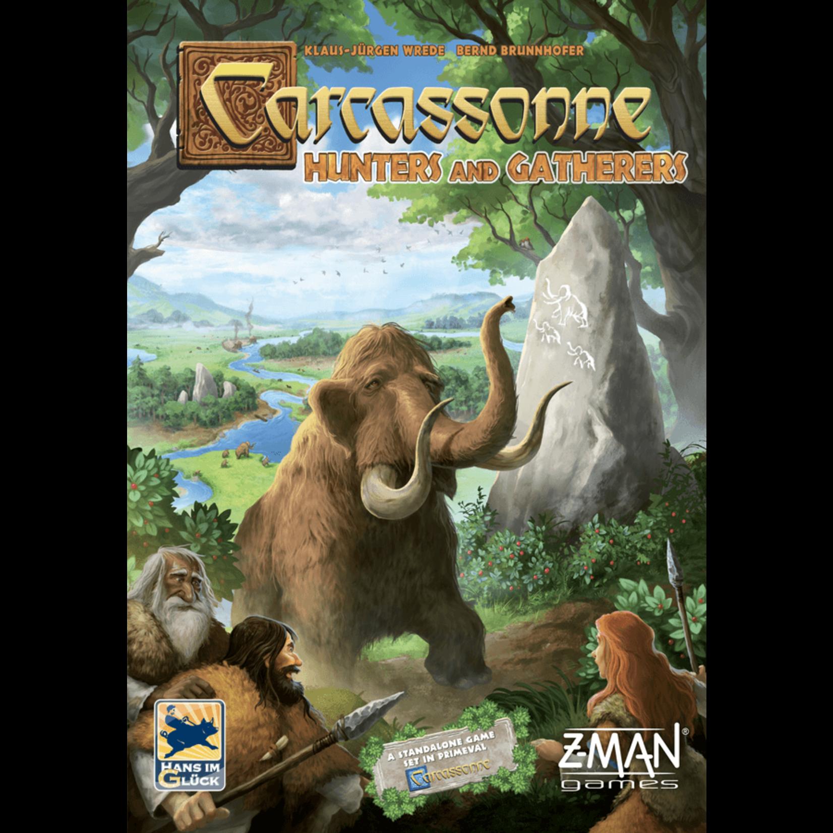 Z-Man Games Carcassonne: Hunters & Gathers