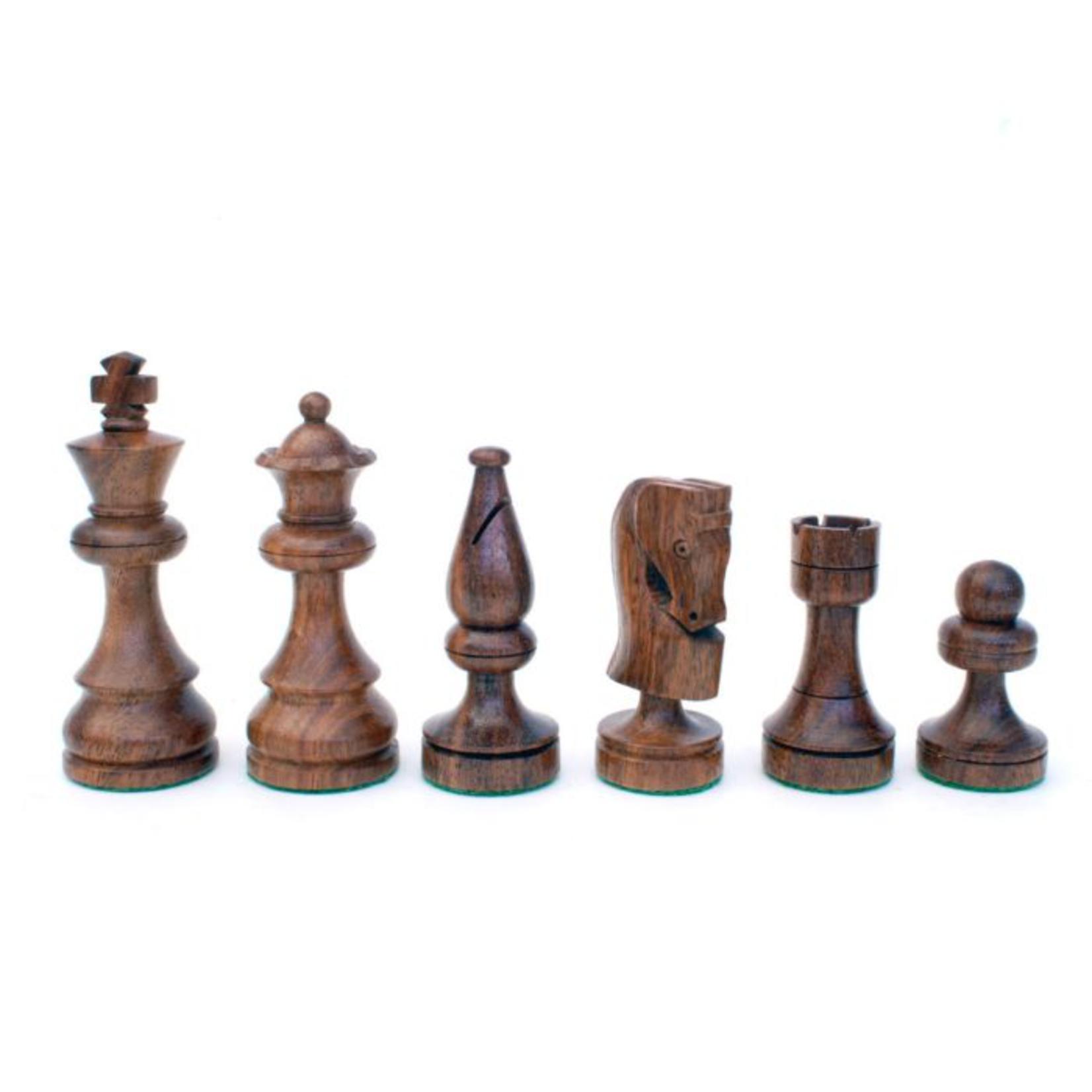 "Wood Expressions CHESS MEN: Sm Sheesham Russian (3.5"")"