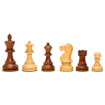 "Wood Expressions CHESS MEN: Lg Sheesham Jacques (3.5"")"