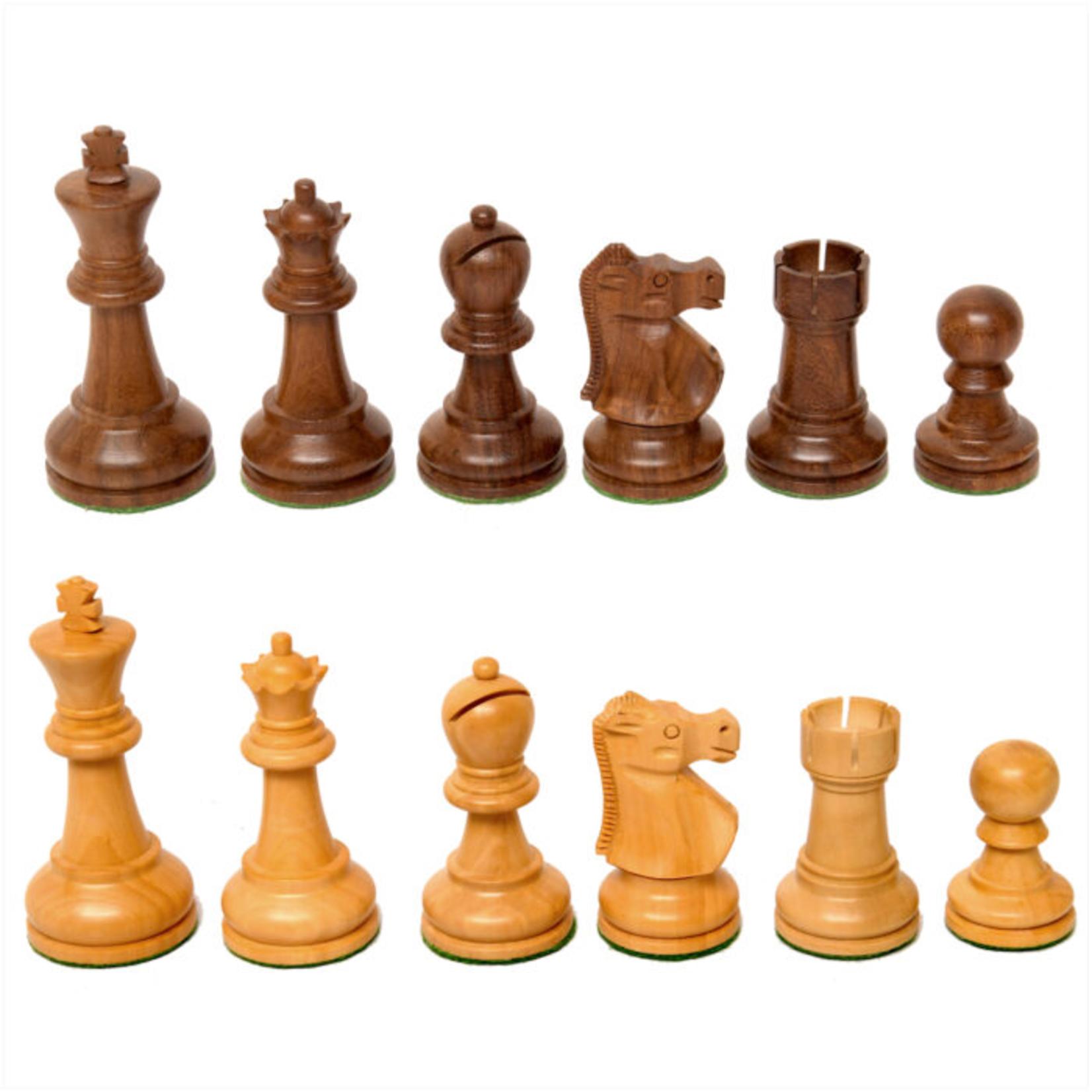 "Wood Expressions CHESS MEN: Lg Sheesham Fischer (3.75"")"