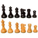 "Wood Expressions CHESS MEN: Lg Black Fischer (3.75"")"
