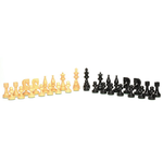 """Wood Expressions CHESS MEN: Sm Black Russian (3.5"""")"""
