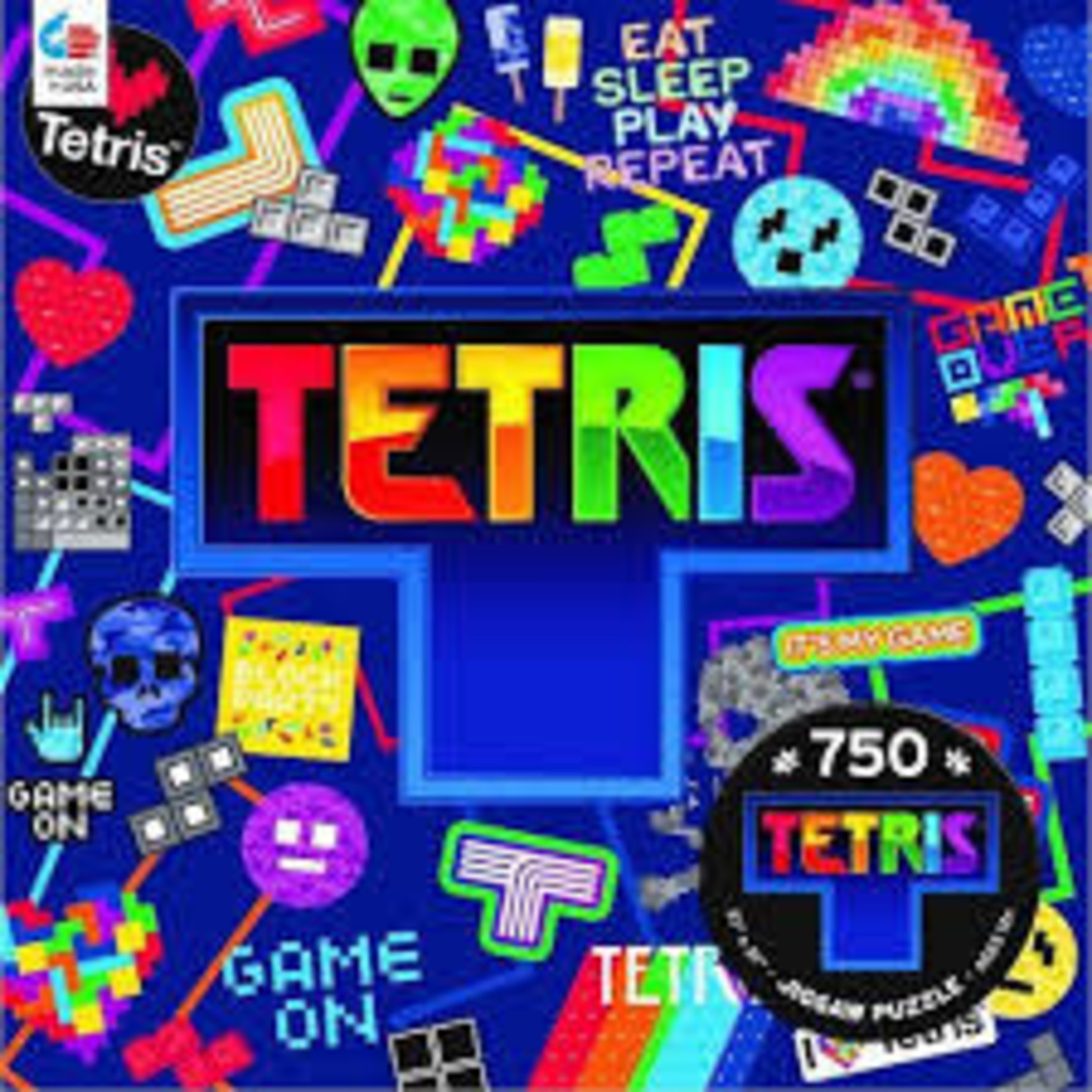CEACO Sticker Collage Tetris 750pc