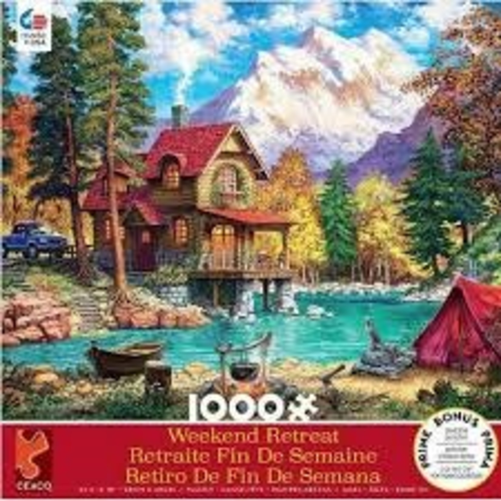 CEACO House in Forest WR 1000pc