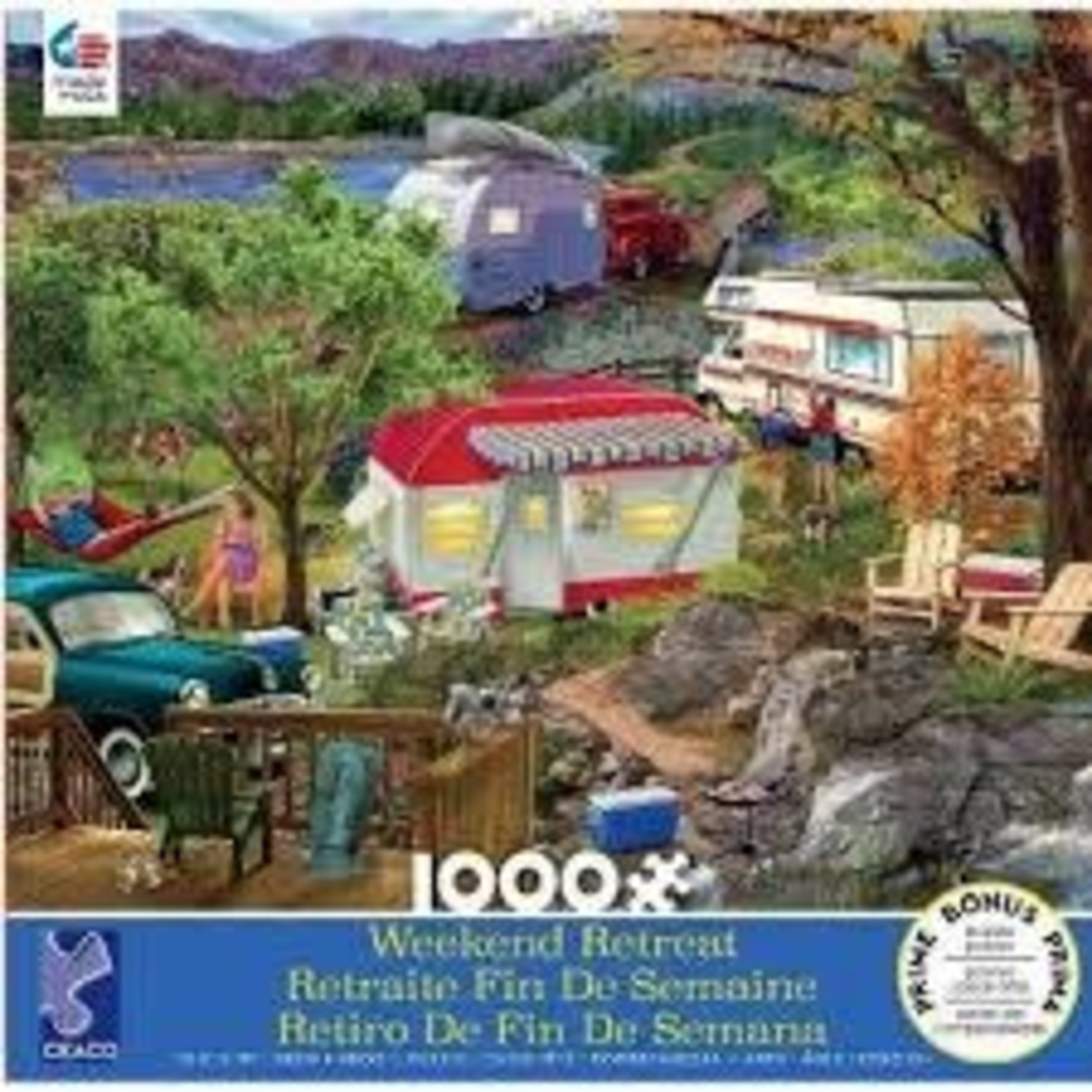 CEACO Camping WR 1000pc
