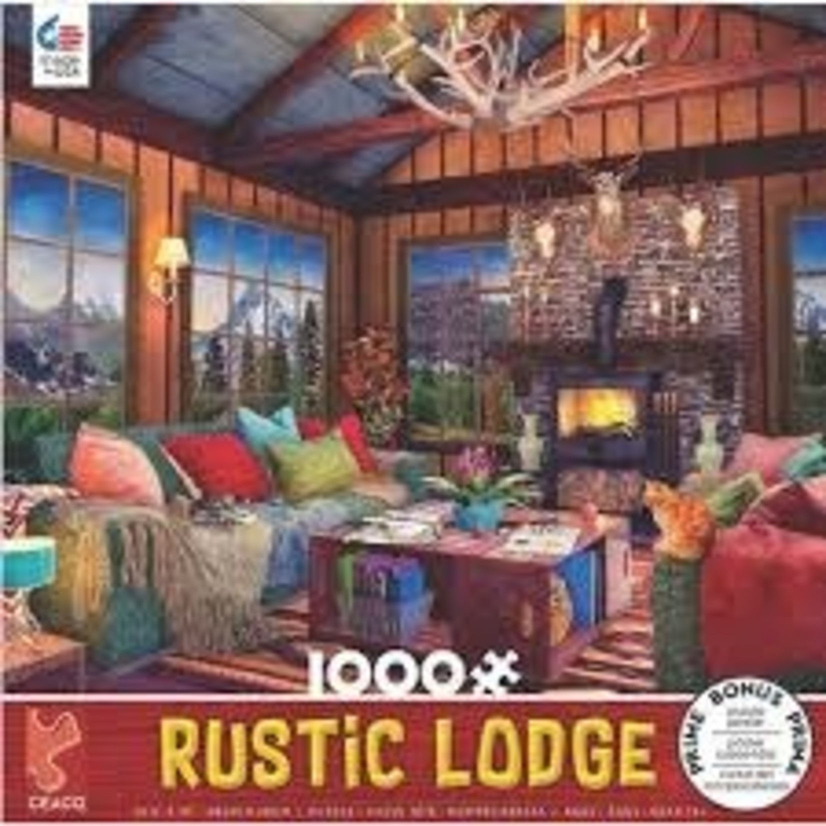 CEACO Cozy Fire RL 1000pc