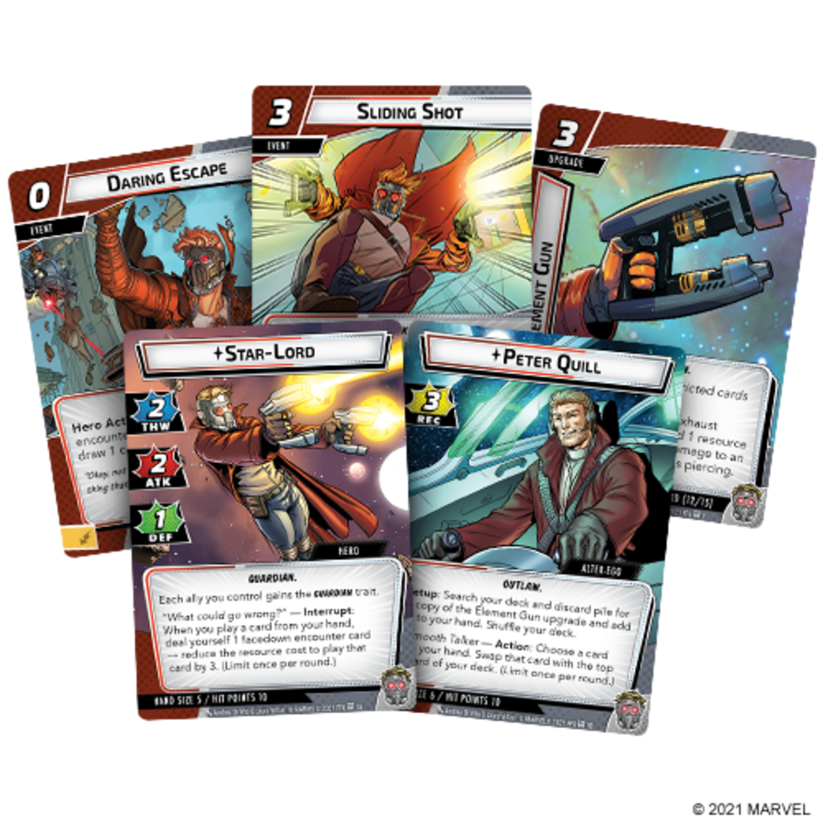 Fantasy Flight Games Marvel LCG: Star-Lord