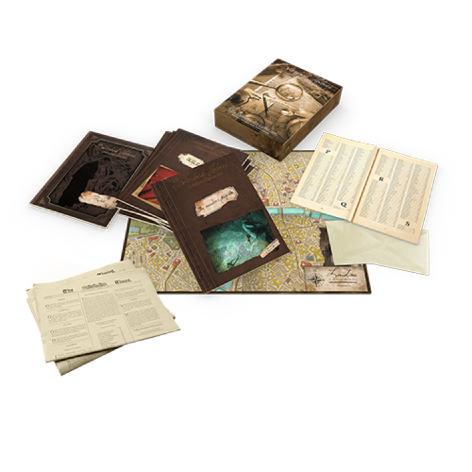 Asmodee Sherlock Holmes: The Thames Murders and Other Cases
