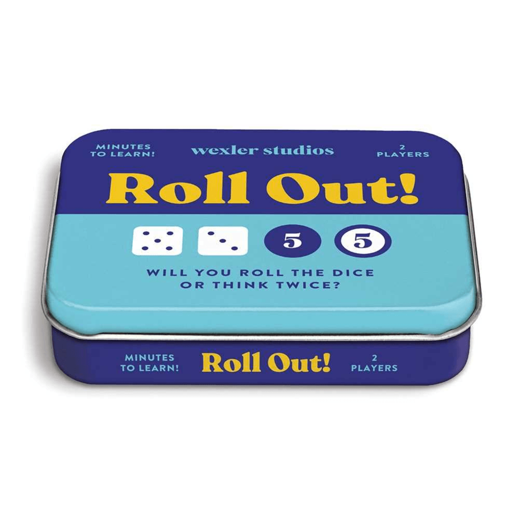 Chronicle Books Roll Out Dice Game