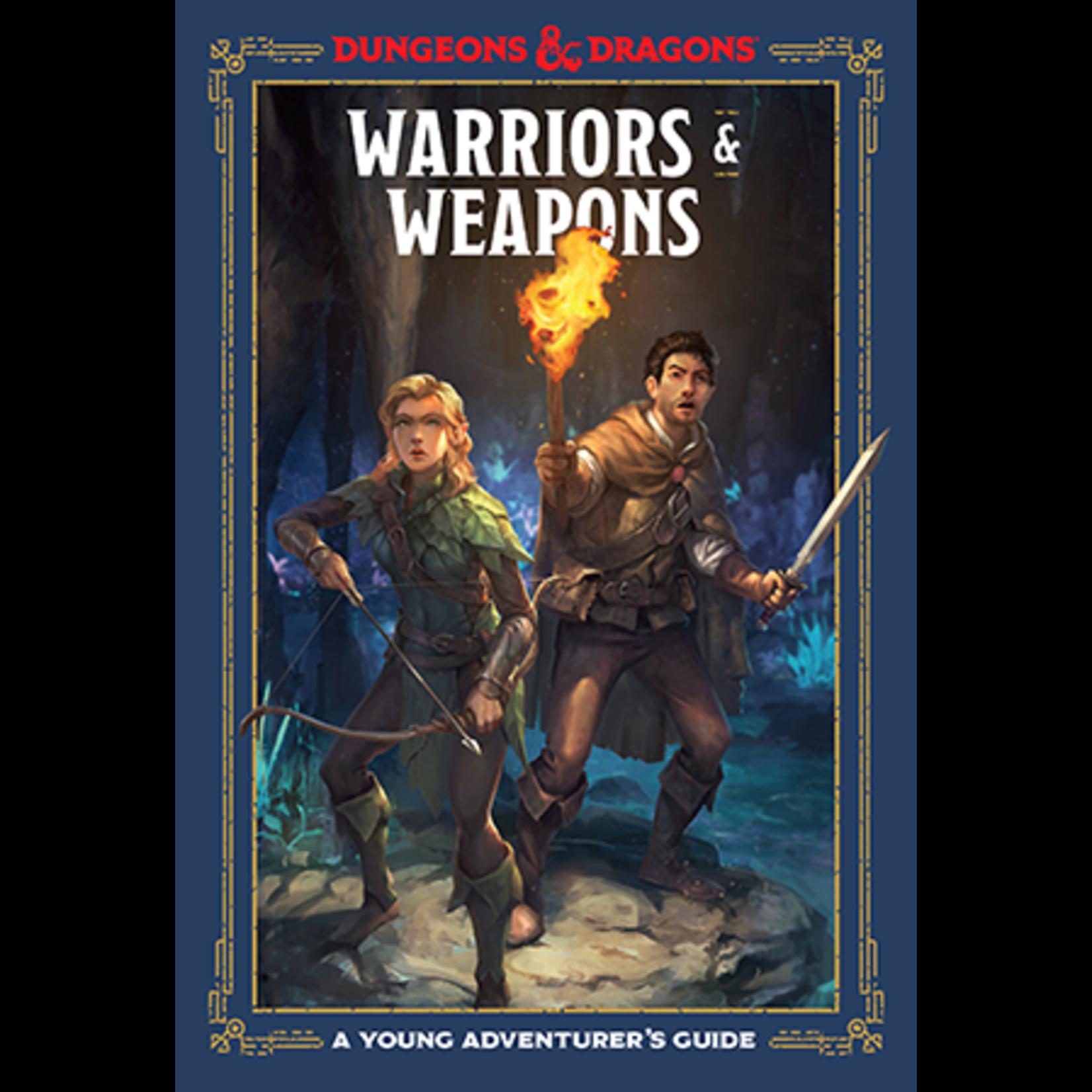 Penguin Random House D&D: Young Adventurer - Warriors and Weapons
