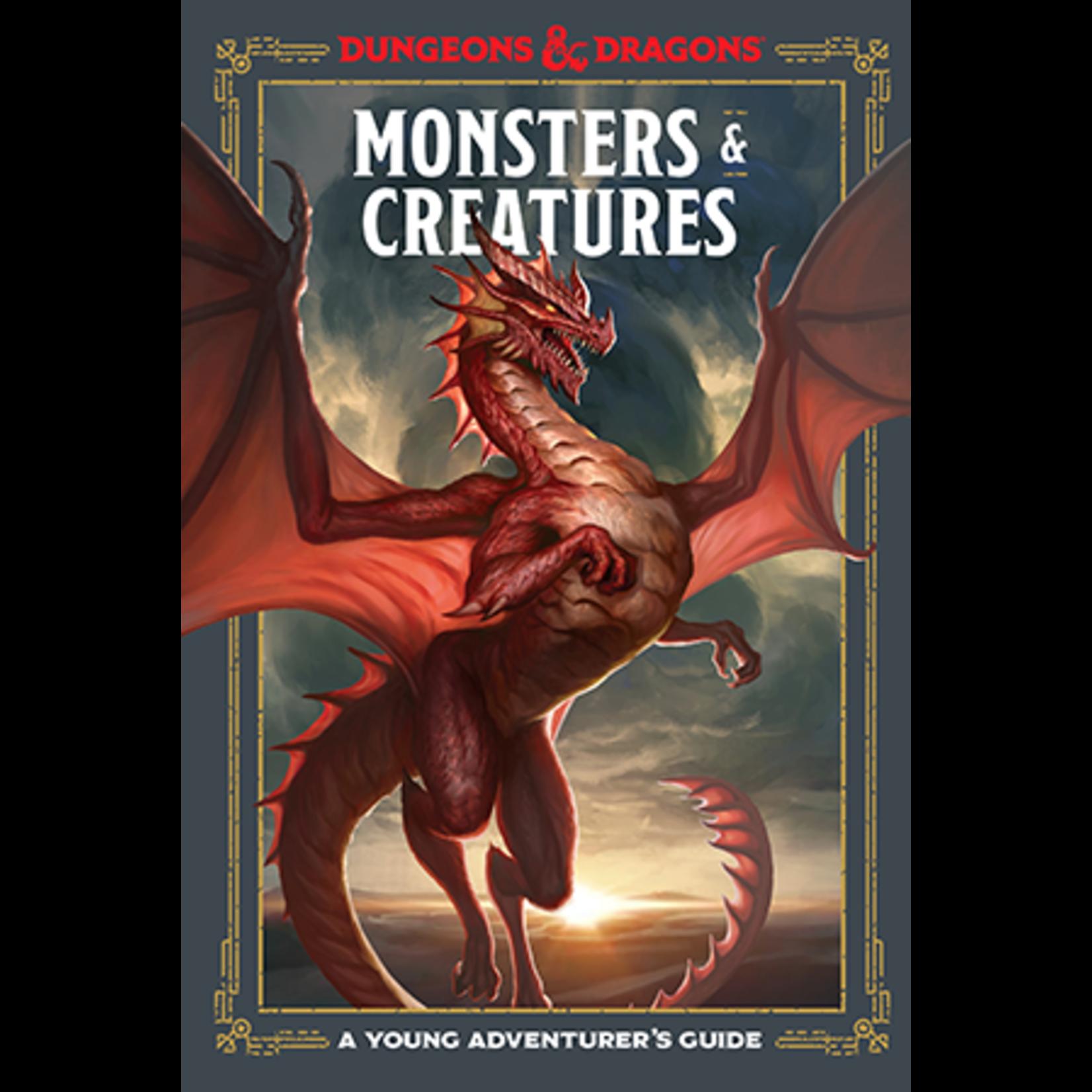 Penguin Random House D&D: Young Adventurer - Monsters and Creatures