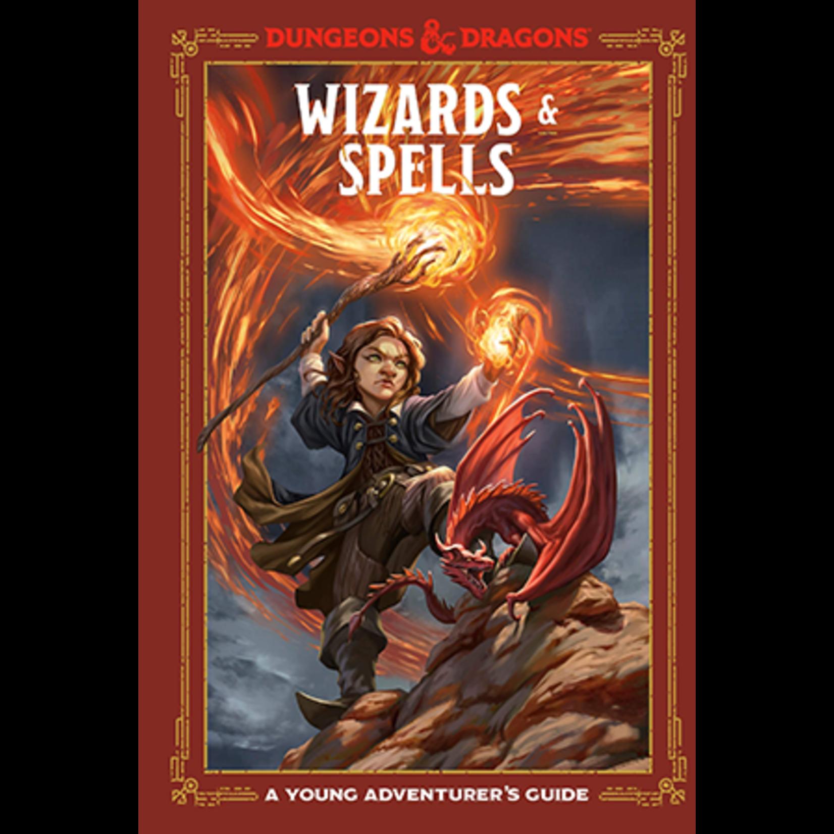 Penguin Random House D&D: Young Adventurer - Wizards and Spells