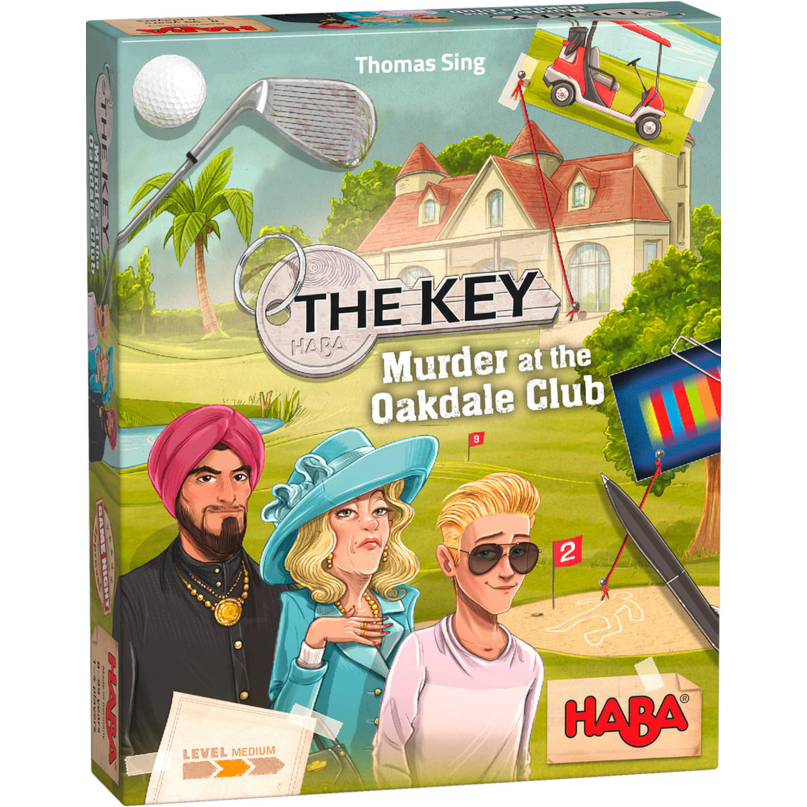 Haba The Key: Murder at the Oakdale Club